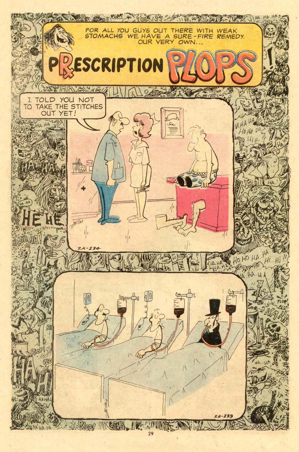 Read online Plop! comic -  Issue #6 - 30
