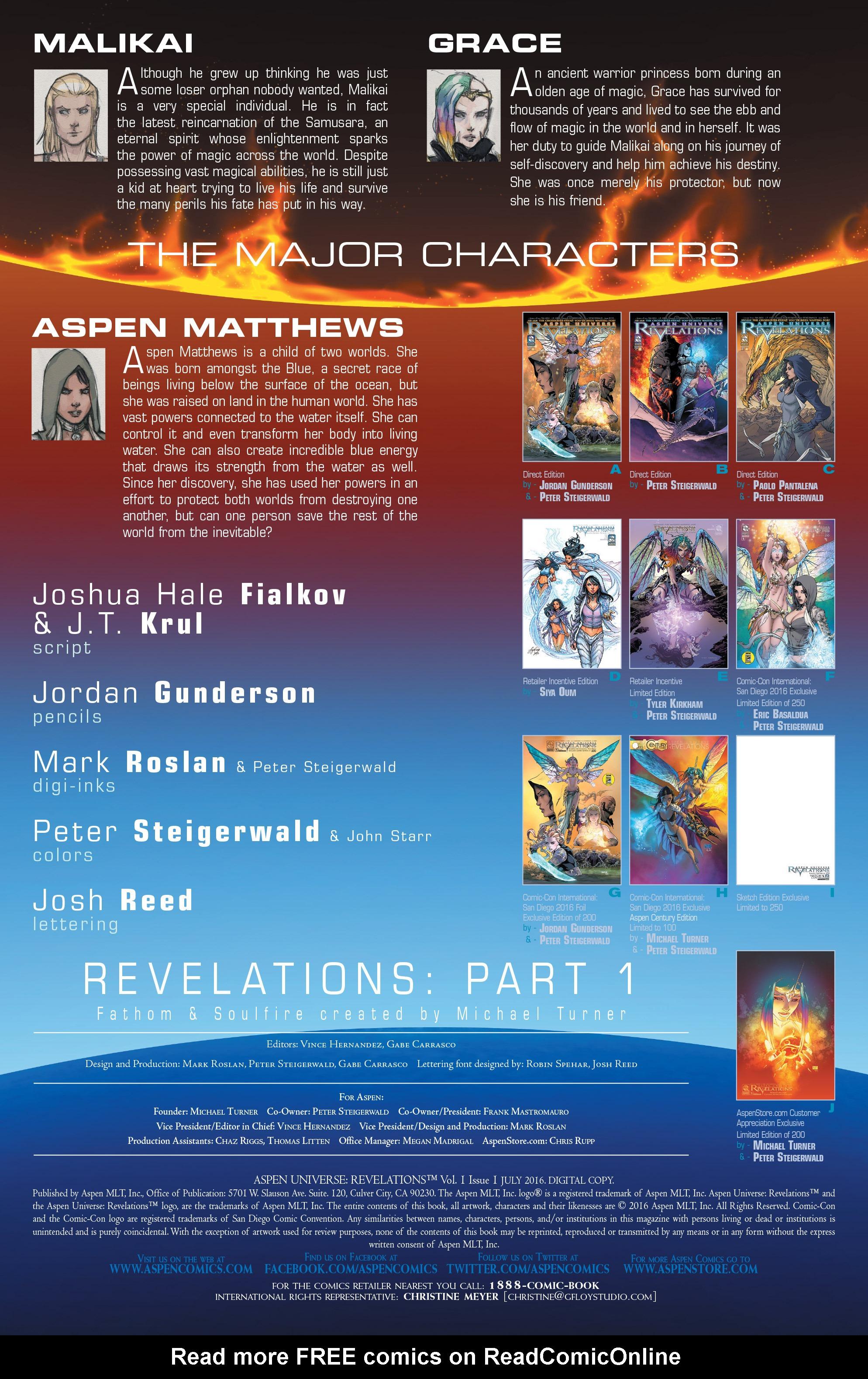 Read online Aspen Universe: Revelations comic -  Issue #1 - 4