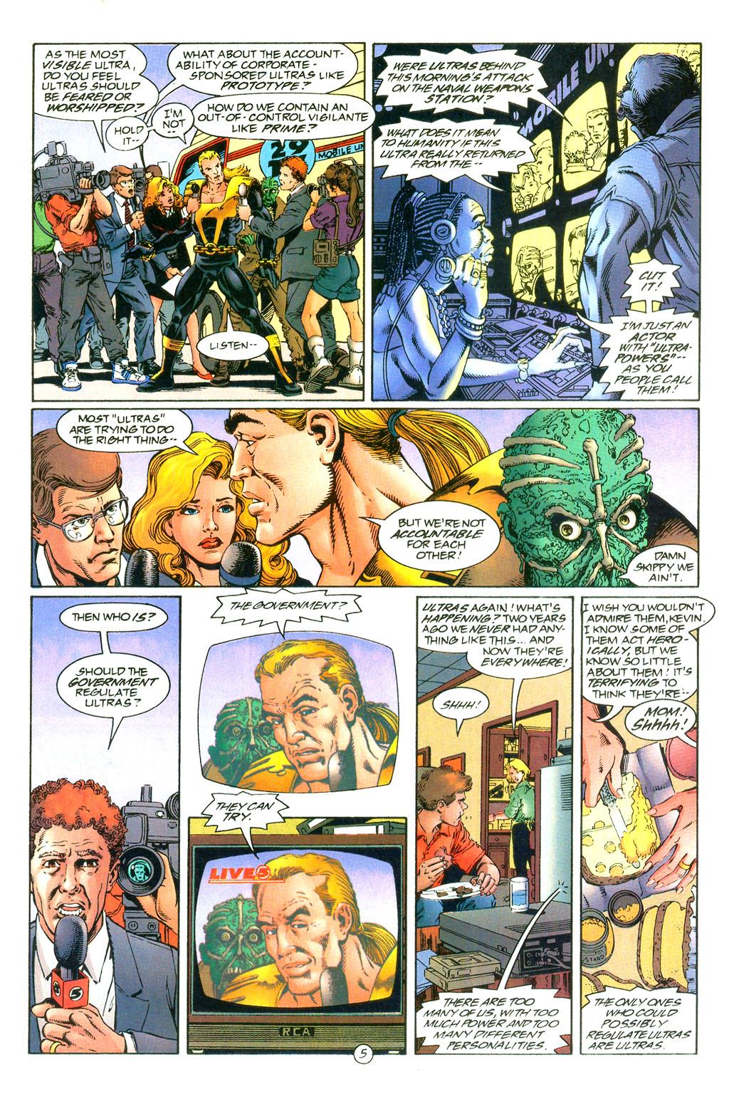 Read online UltraForce (1994) comic -  Issue #0 - 7