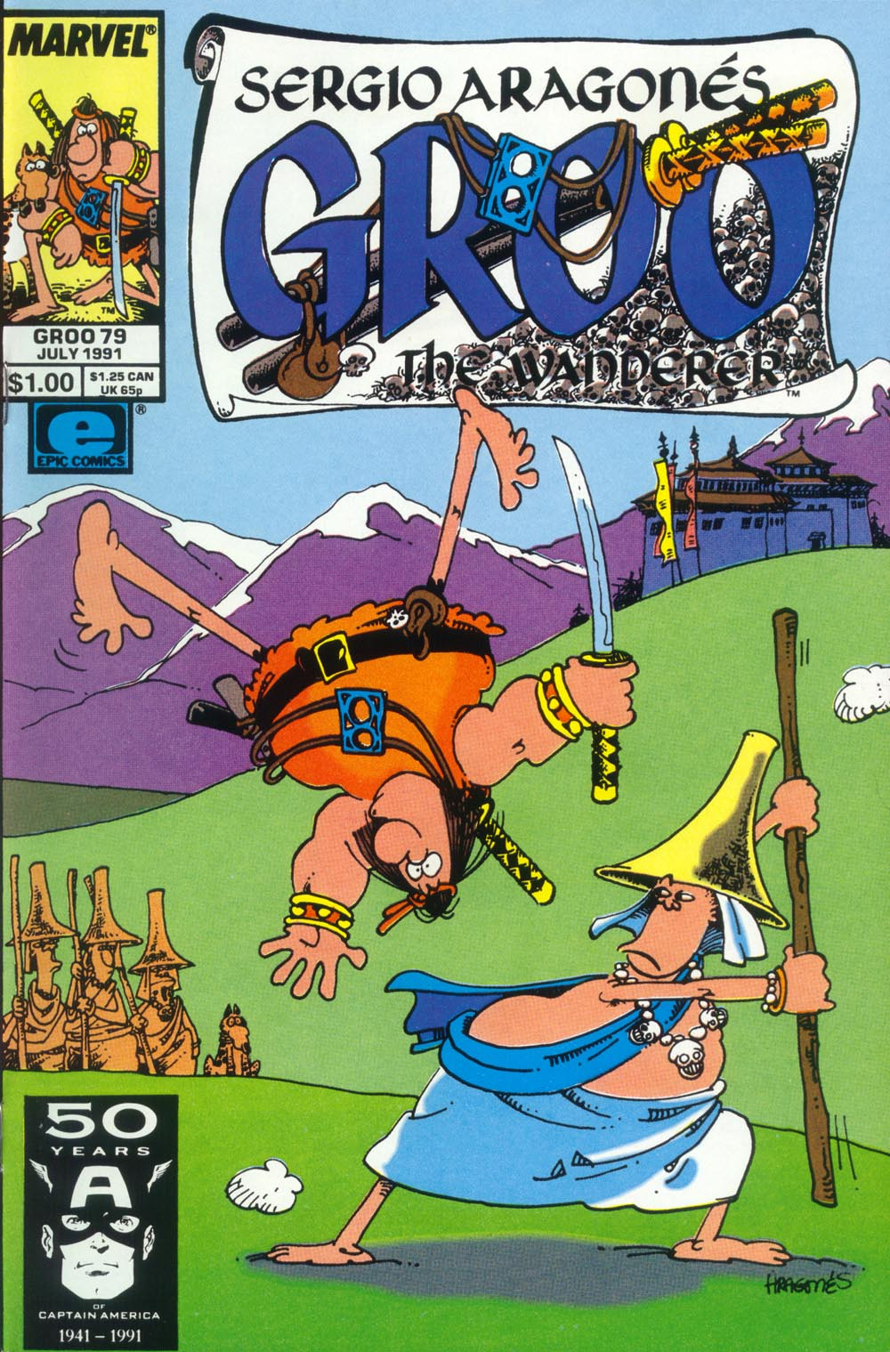Read online Sergio Aragonés Groo the Wanderer comic -  Issue #79 - 1