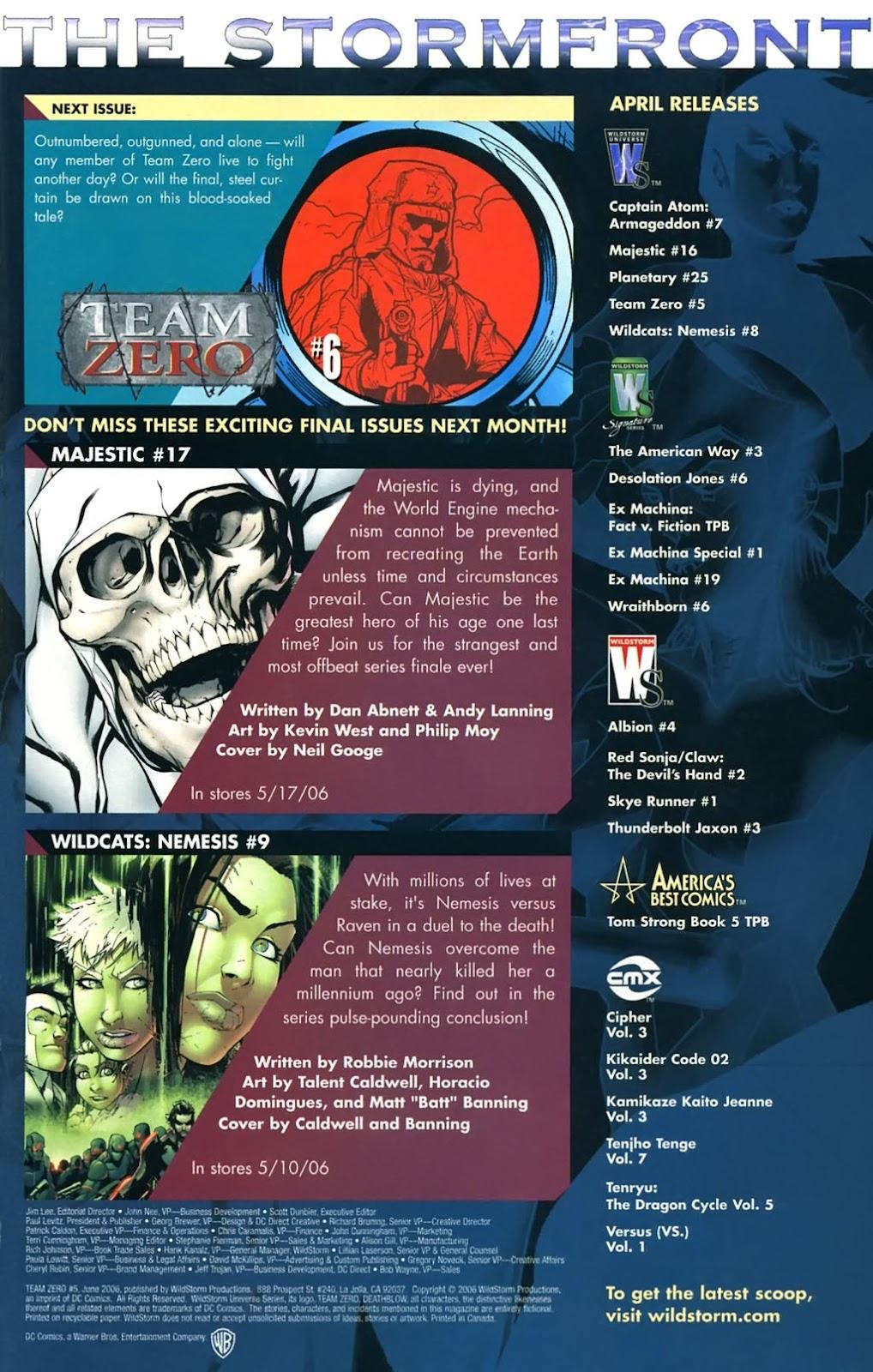 Team Zero Issue #5 #5 - English 23