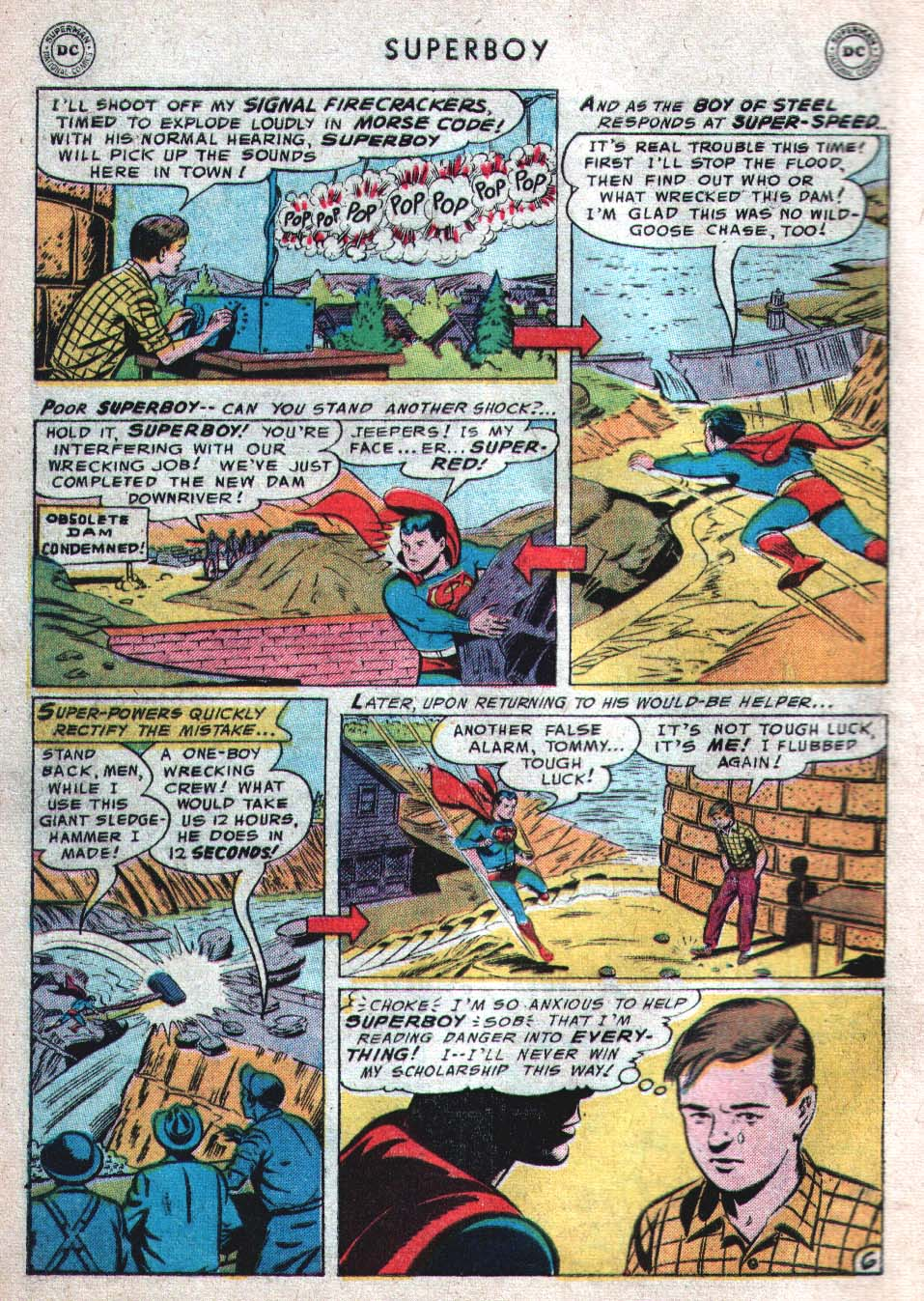 Superboy (1949) issue 46 - Page 7