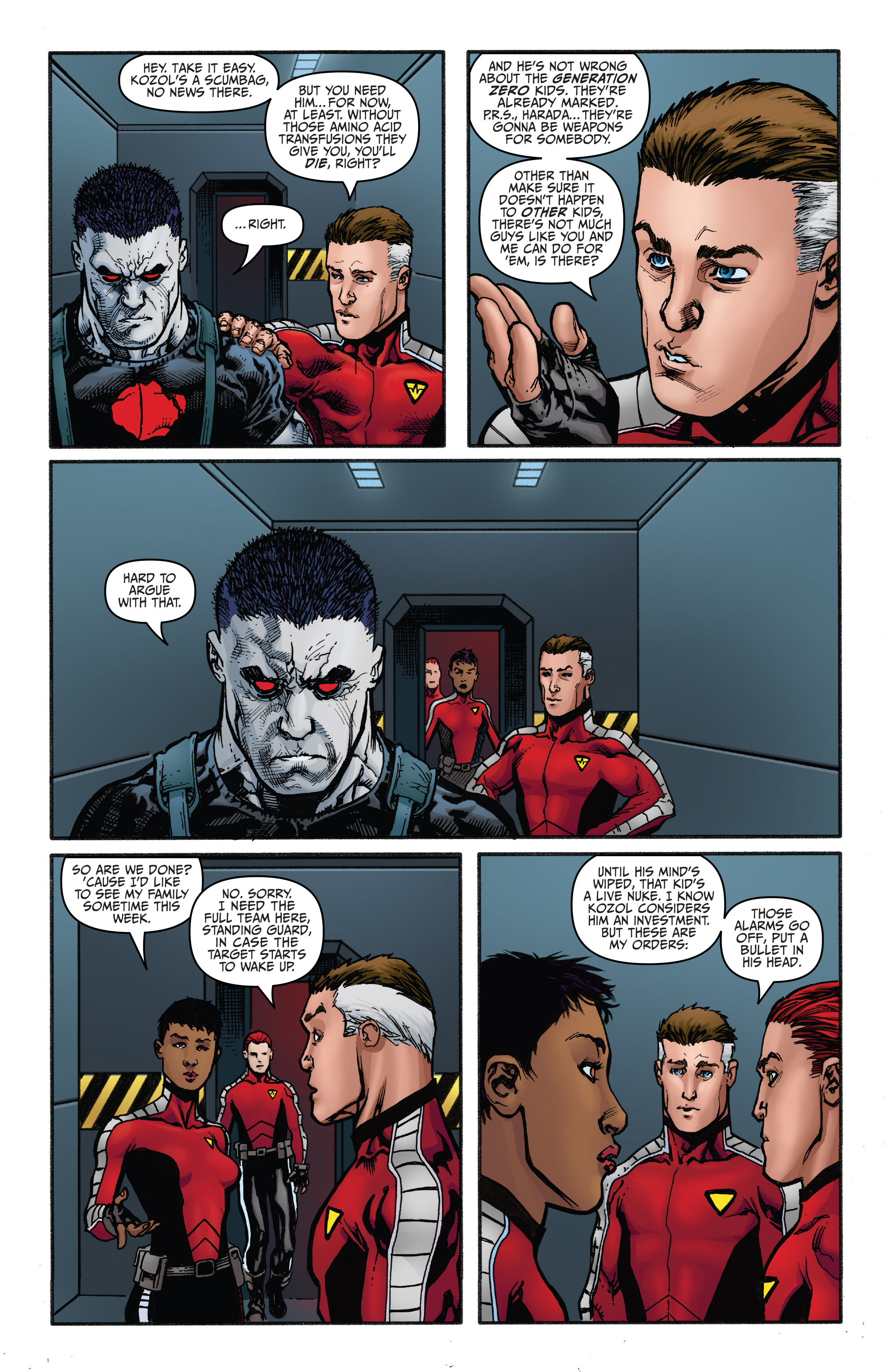 Read online Bloodshot and H.A.R.D.Corps comic -  Issue #20 - 18