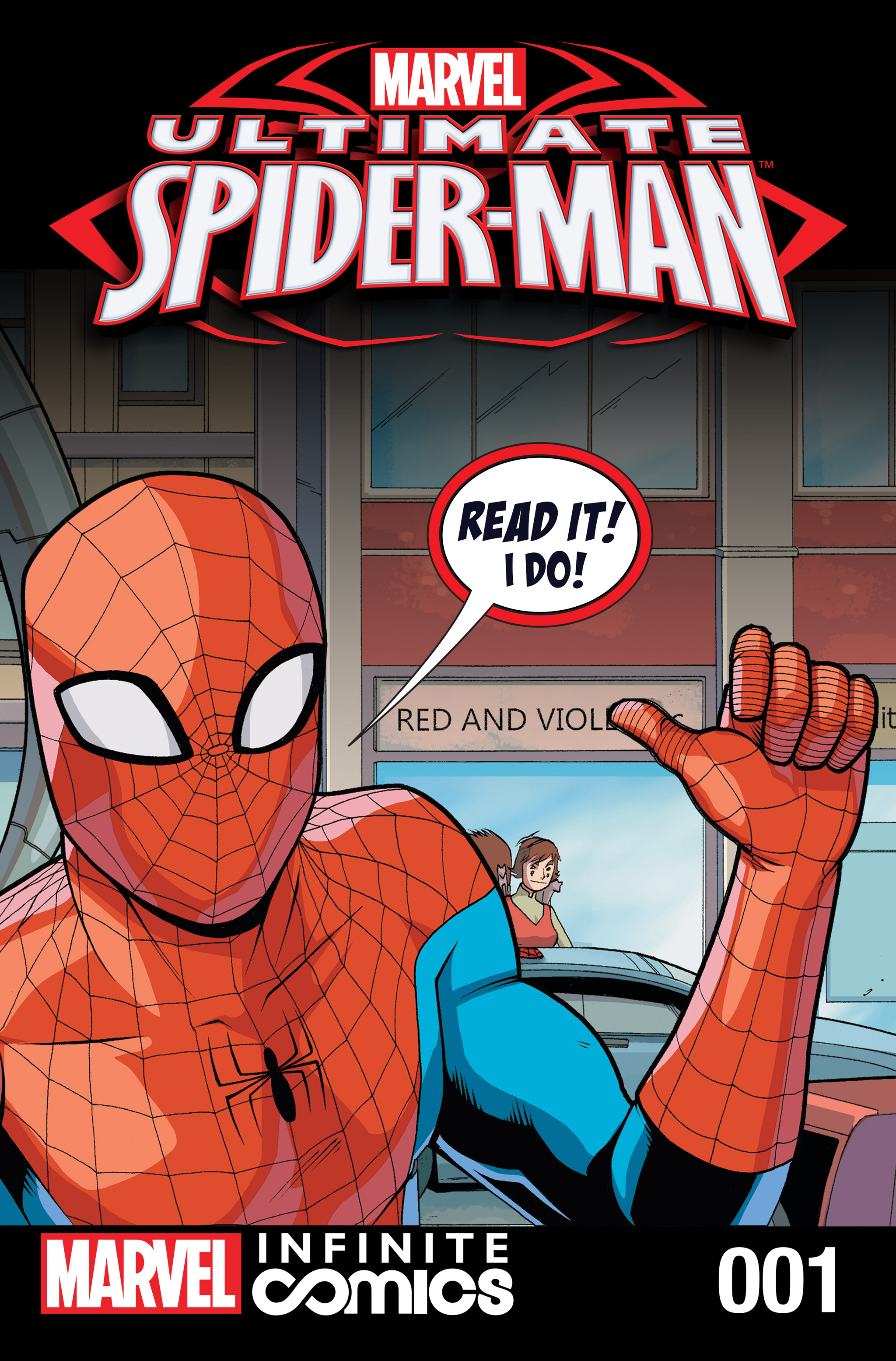 Read online Ultimate Spider-Man (Infinite Comics) (2016) comic -  Issue #1 - 1