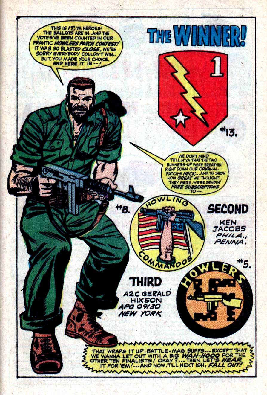 Read online Sgt. Fury comic -  Issue #47 - 32