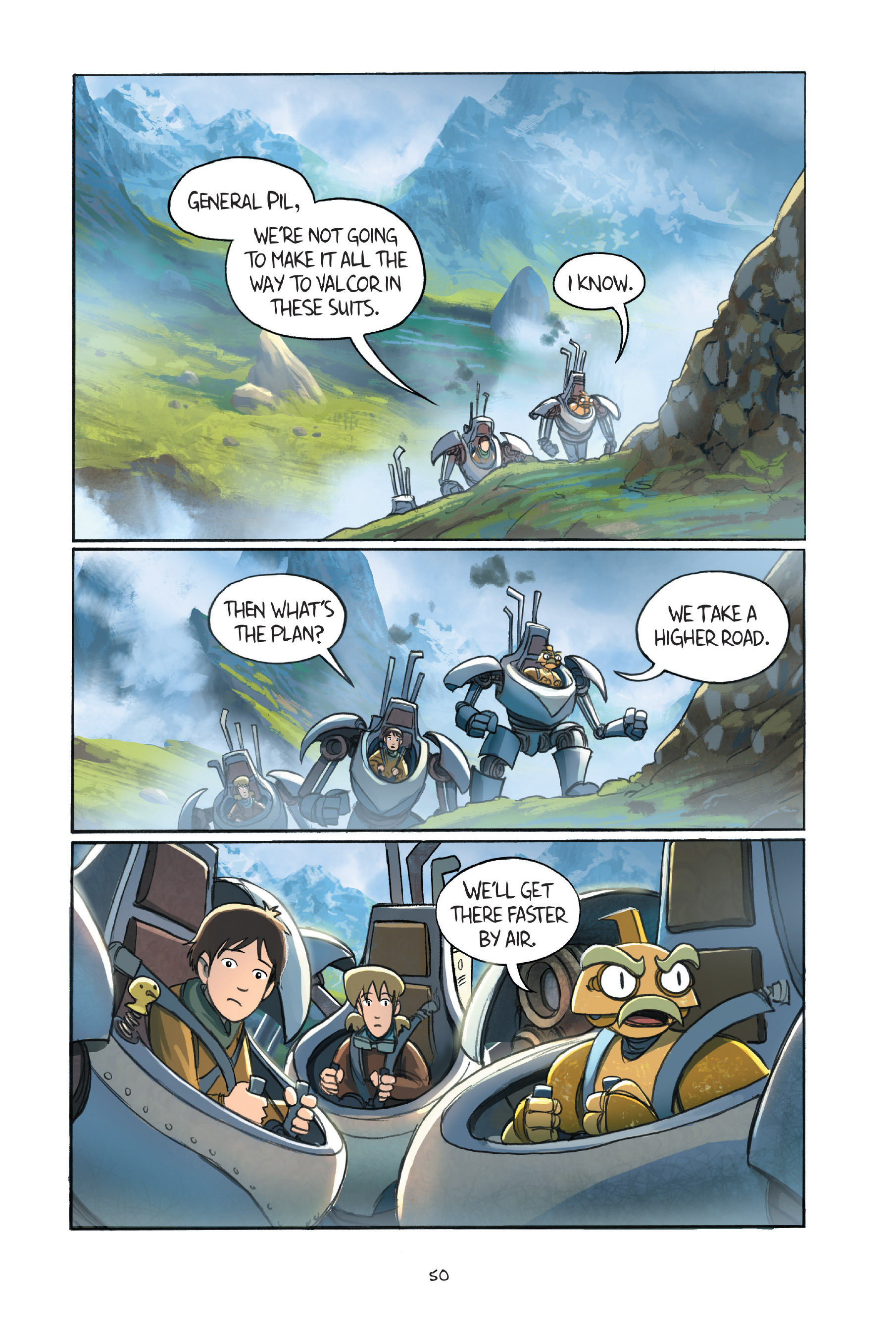 Read online Amulet comic -  Issue #7 - 52