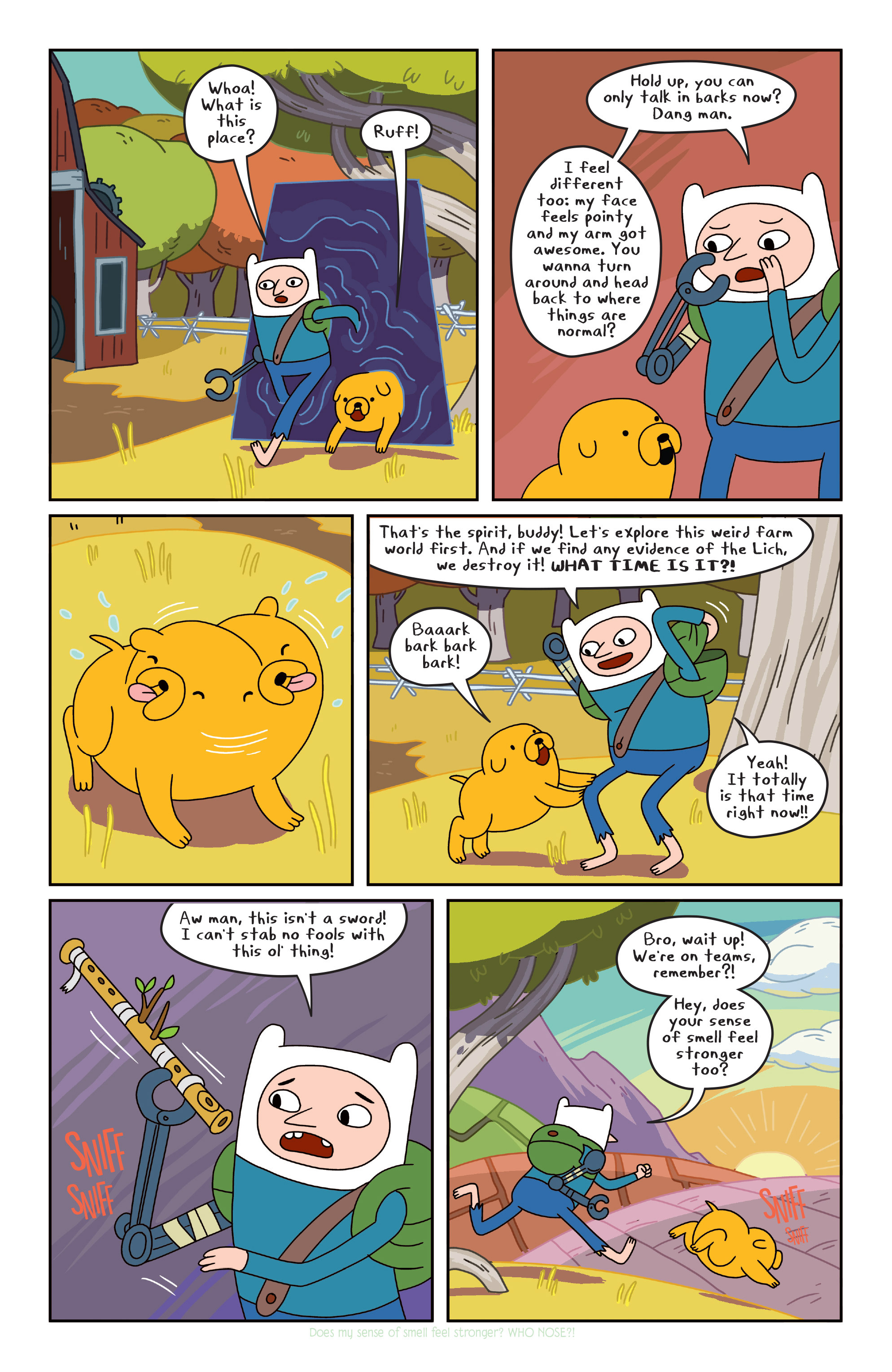 Read online Adventure Time comic -  Issue #Adventure Time _TPB 4 - 72