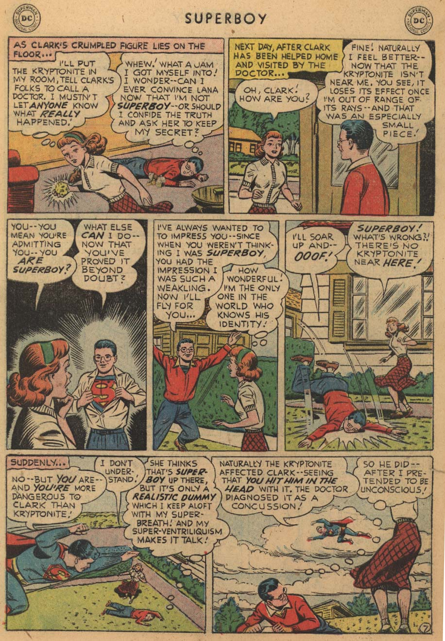 Superboy (1949) issue 45 - Page 28