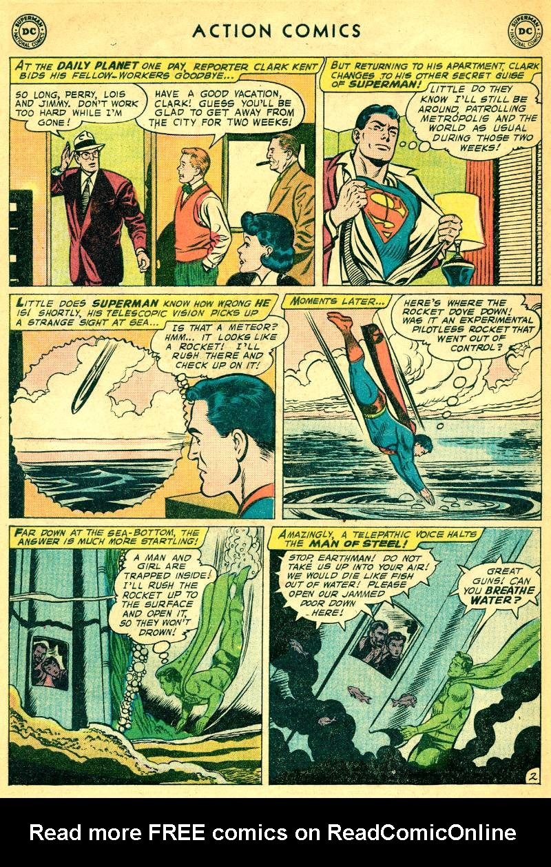 Read online Action Comics (1938) comic -  Issue #244 - 4