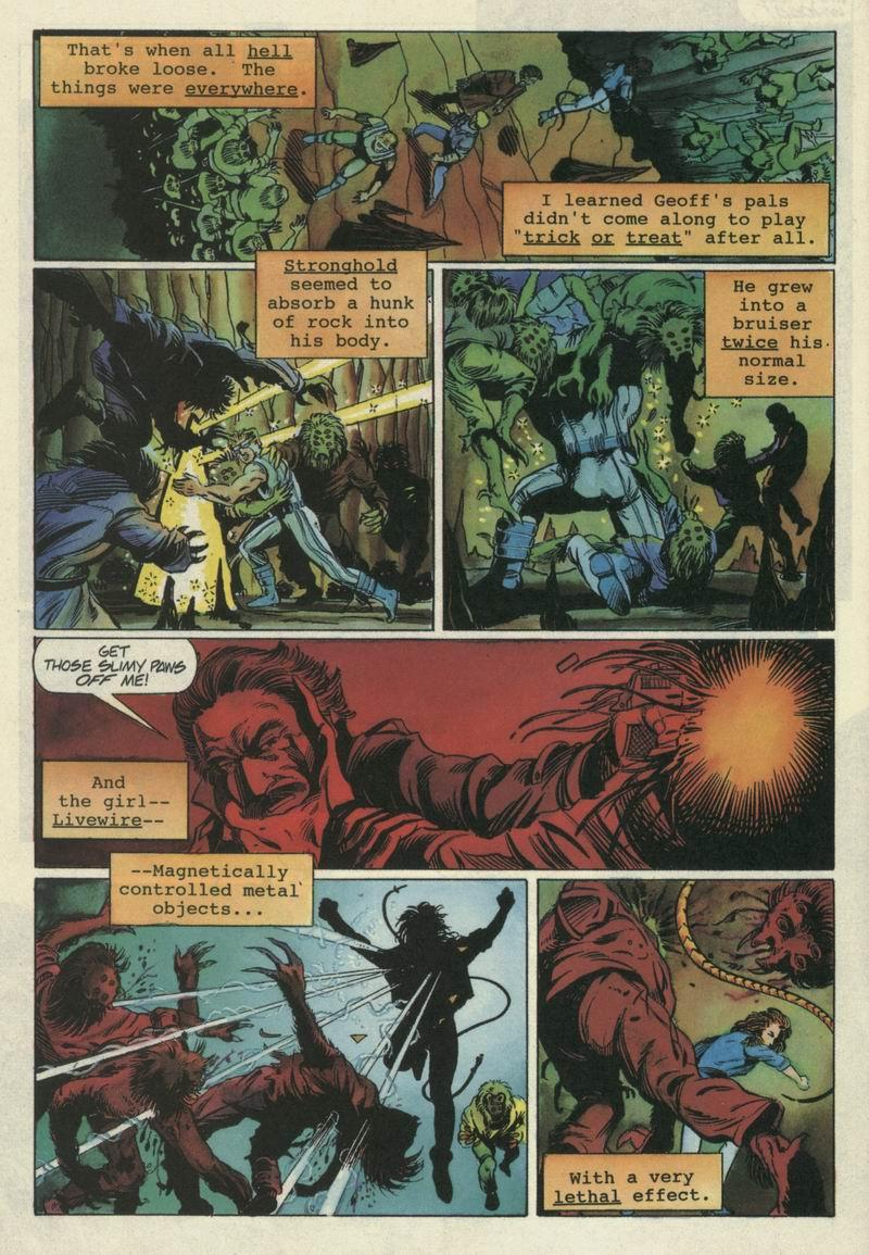 Read online Secret Weapons comic -  Issue #6 - 19