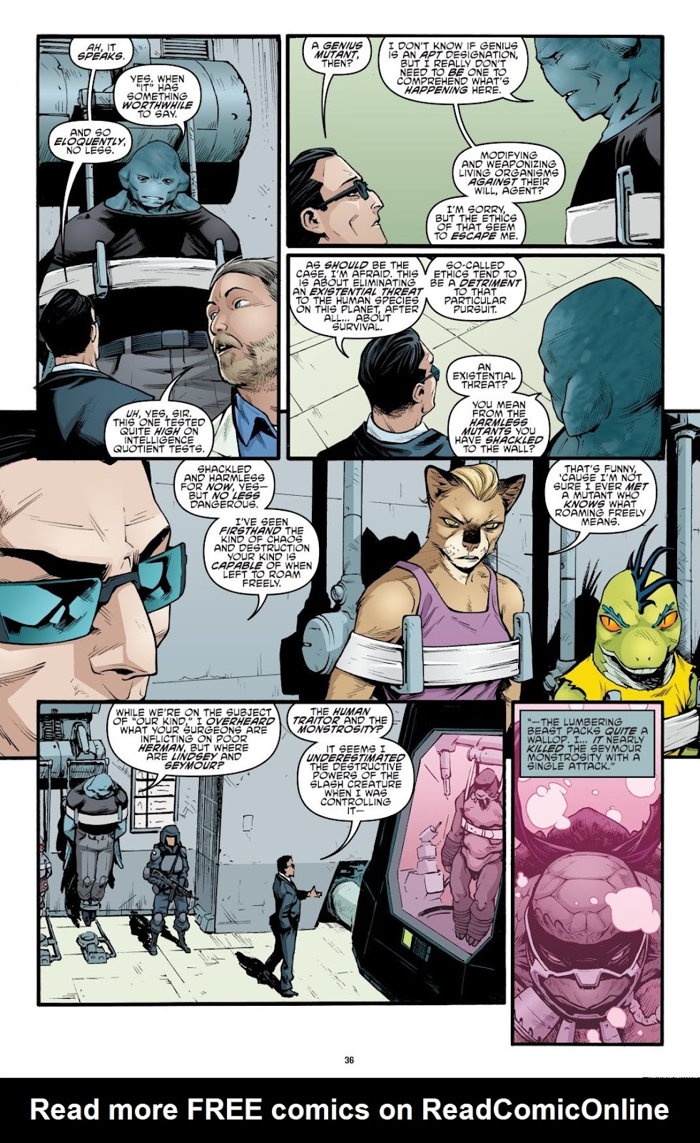 Read online Teenage Mutant Ninja Turtles: The IDW Collection comic -  Issue # TPB 9 (Part 1) - 37