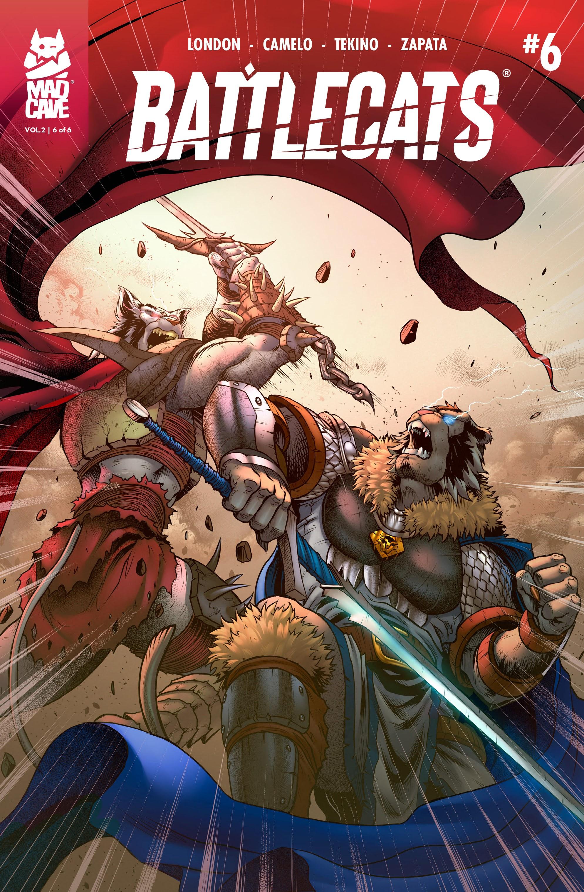 Battlecats (2019) 6 Page 1
