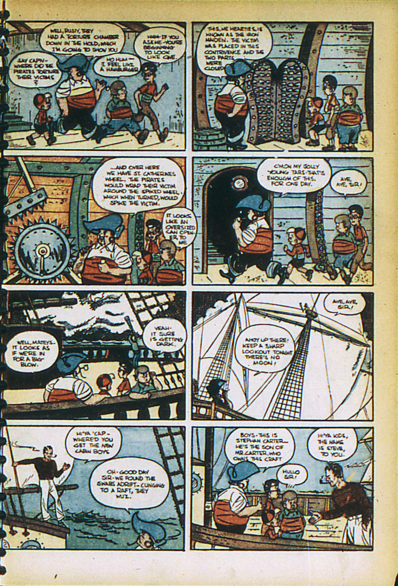 Read online Adventure Comics (1938) comic -  Issue #27 - 17