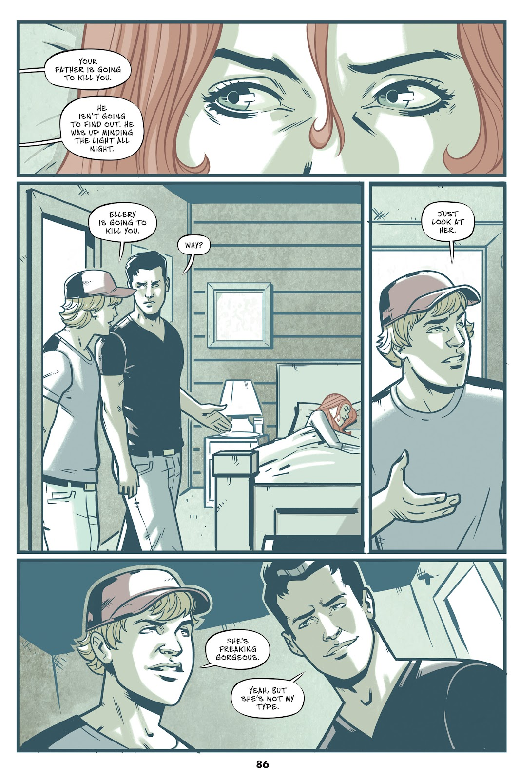 Read online Mera: Tidebreaker comic -  Issue # TPB (Part 1) - 86