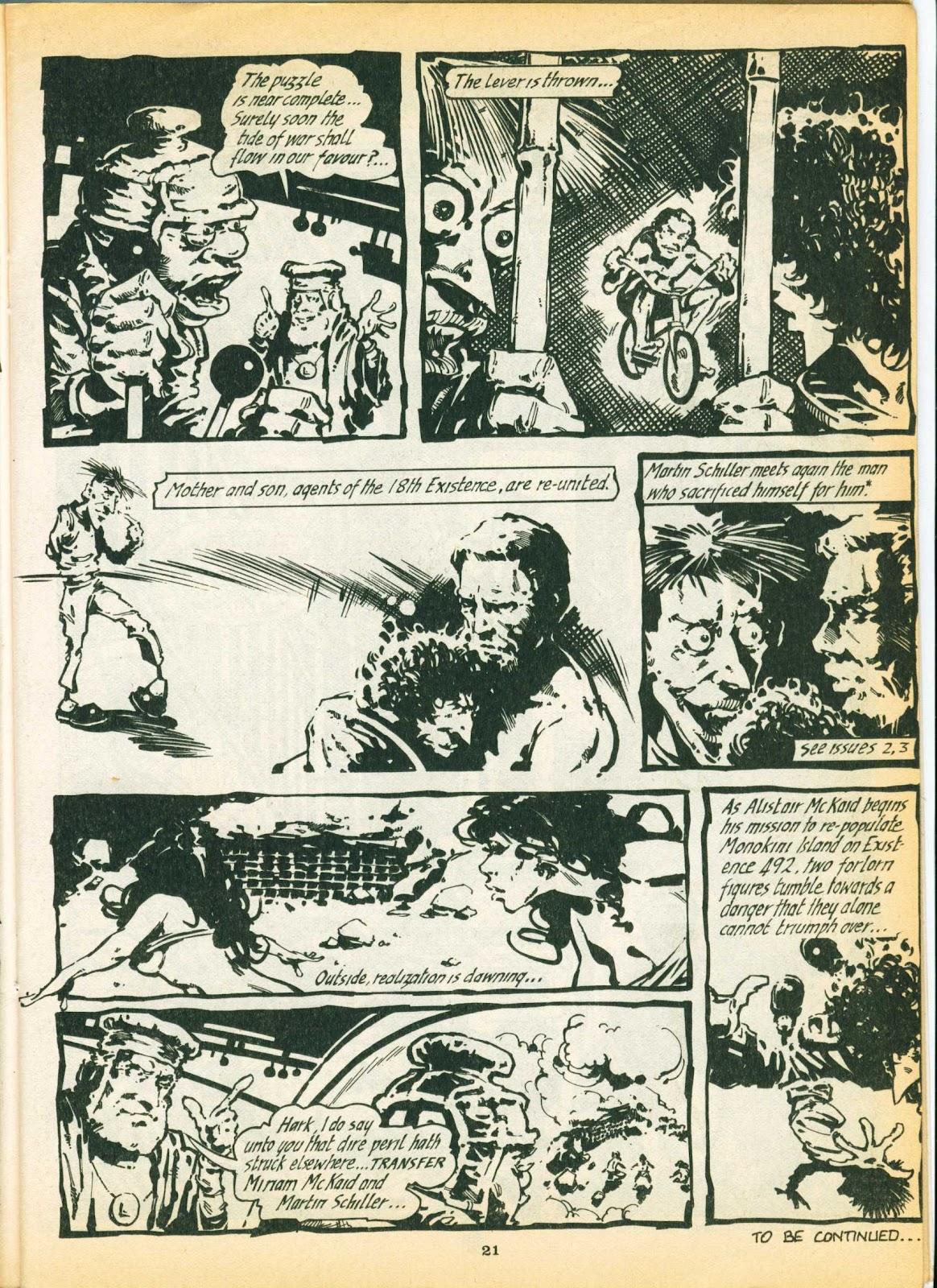 Warrior Issue #6 #7 - English 21