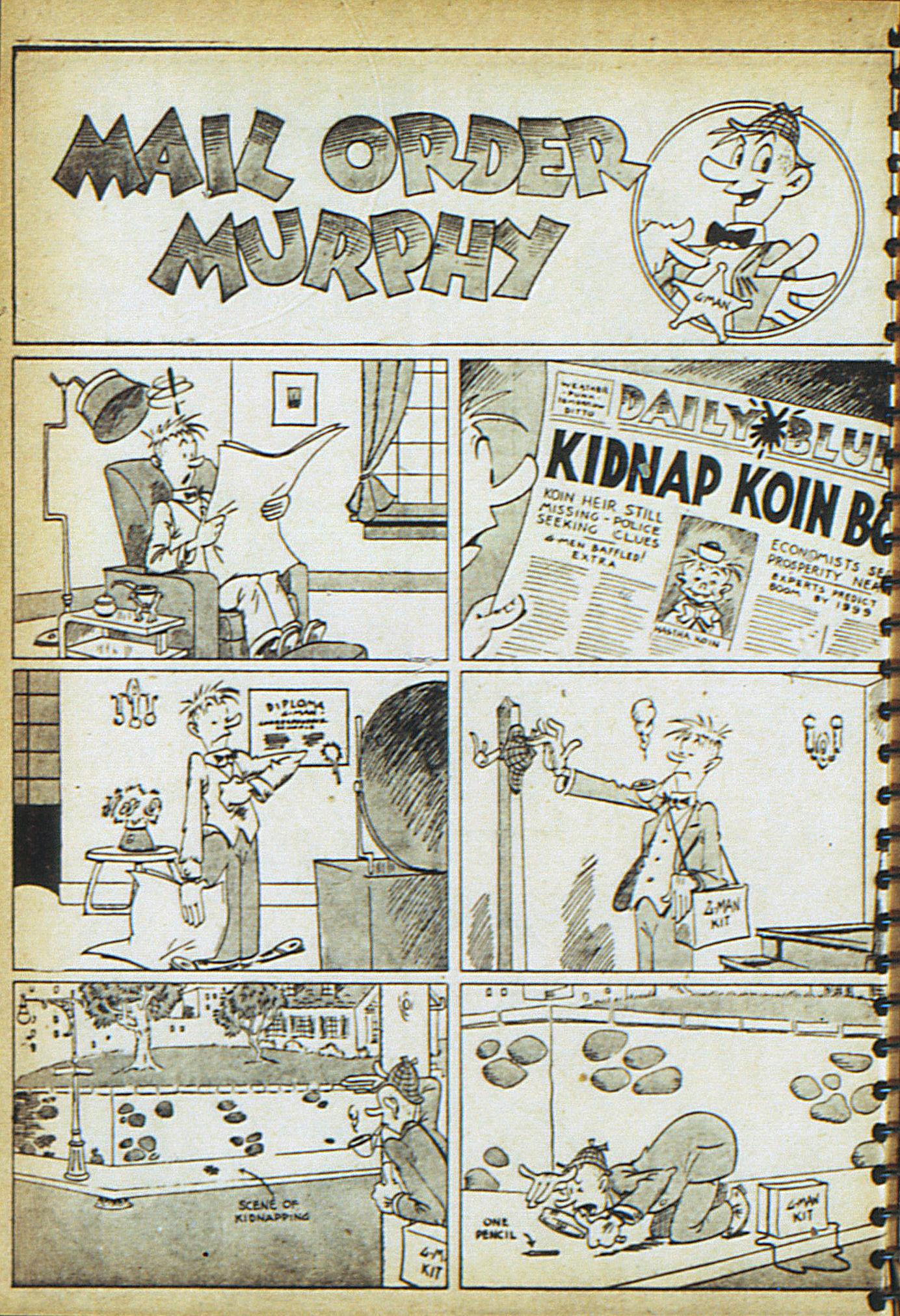 Read online Adventure Comics (1938) comic -  Issue #18 - 37