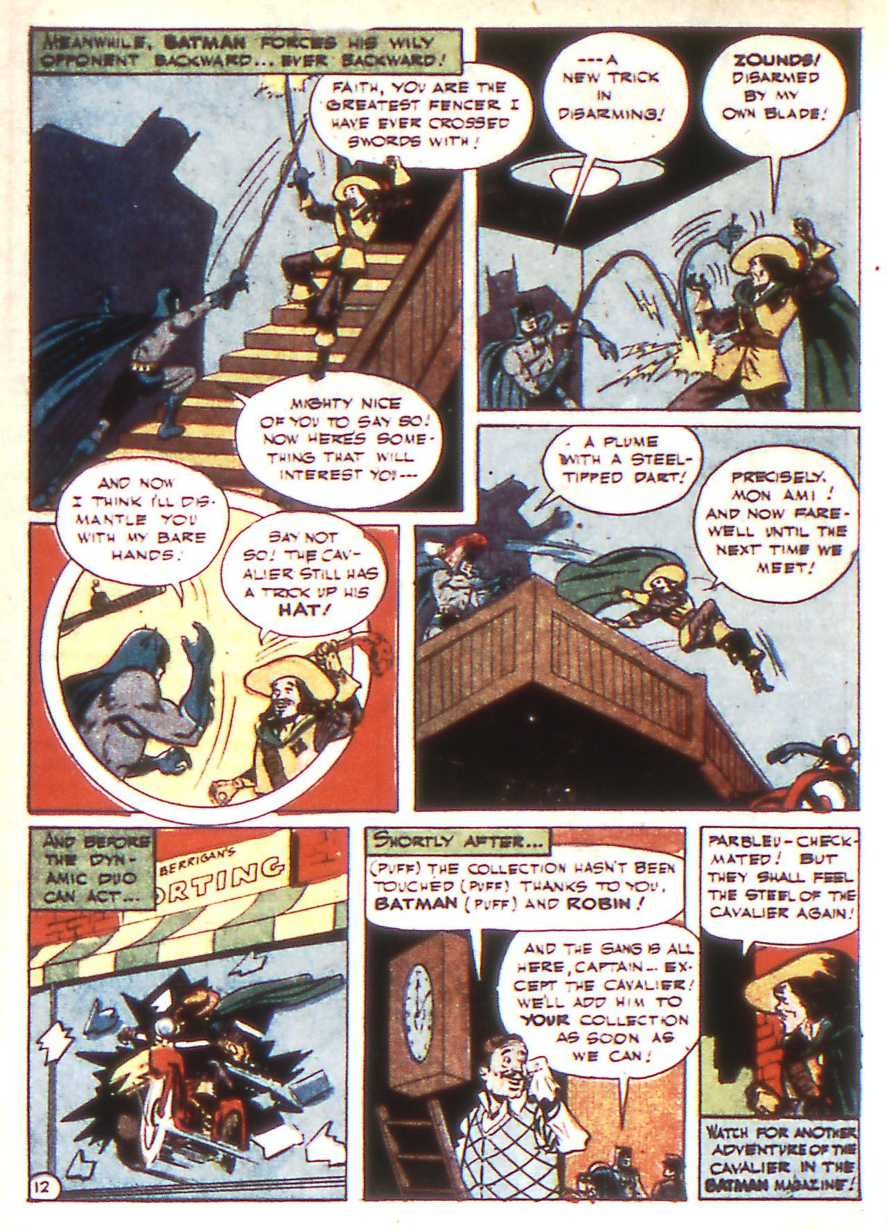 Read online Detective Comics (1937) comic -  Issue #81 - 14