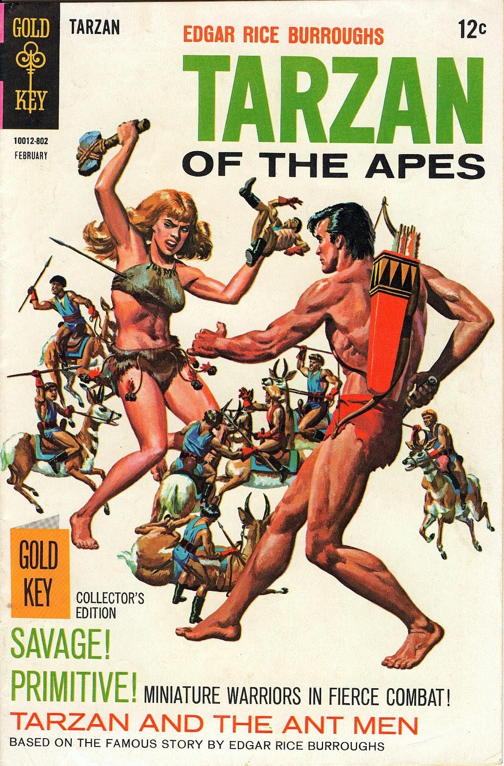 Tarzan (1962) issue 174 - Page 1