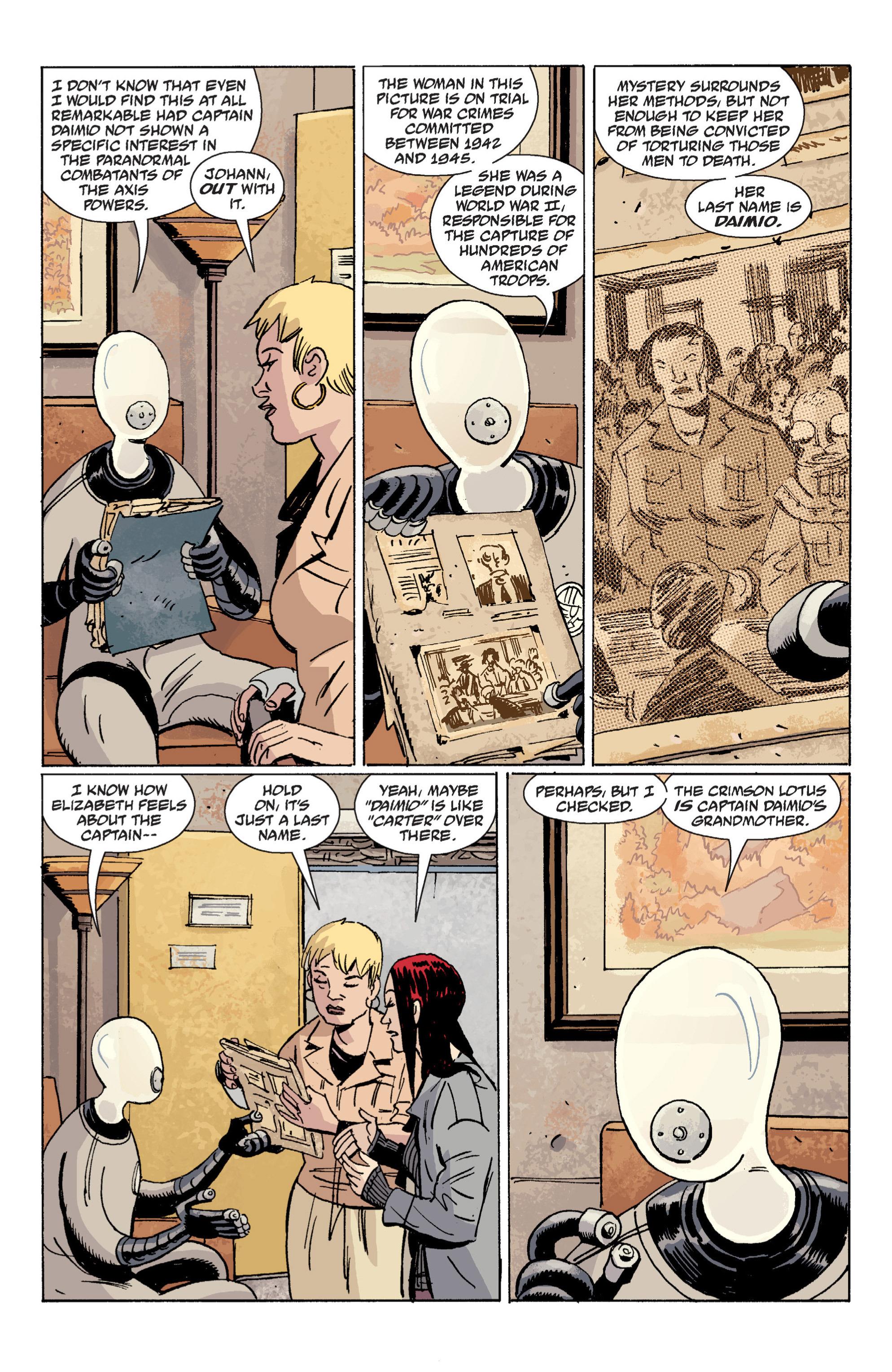 Read online B.P.R.D. (2003) comic -  Issue # TPB 7 - 64