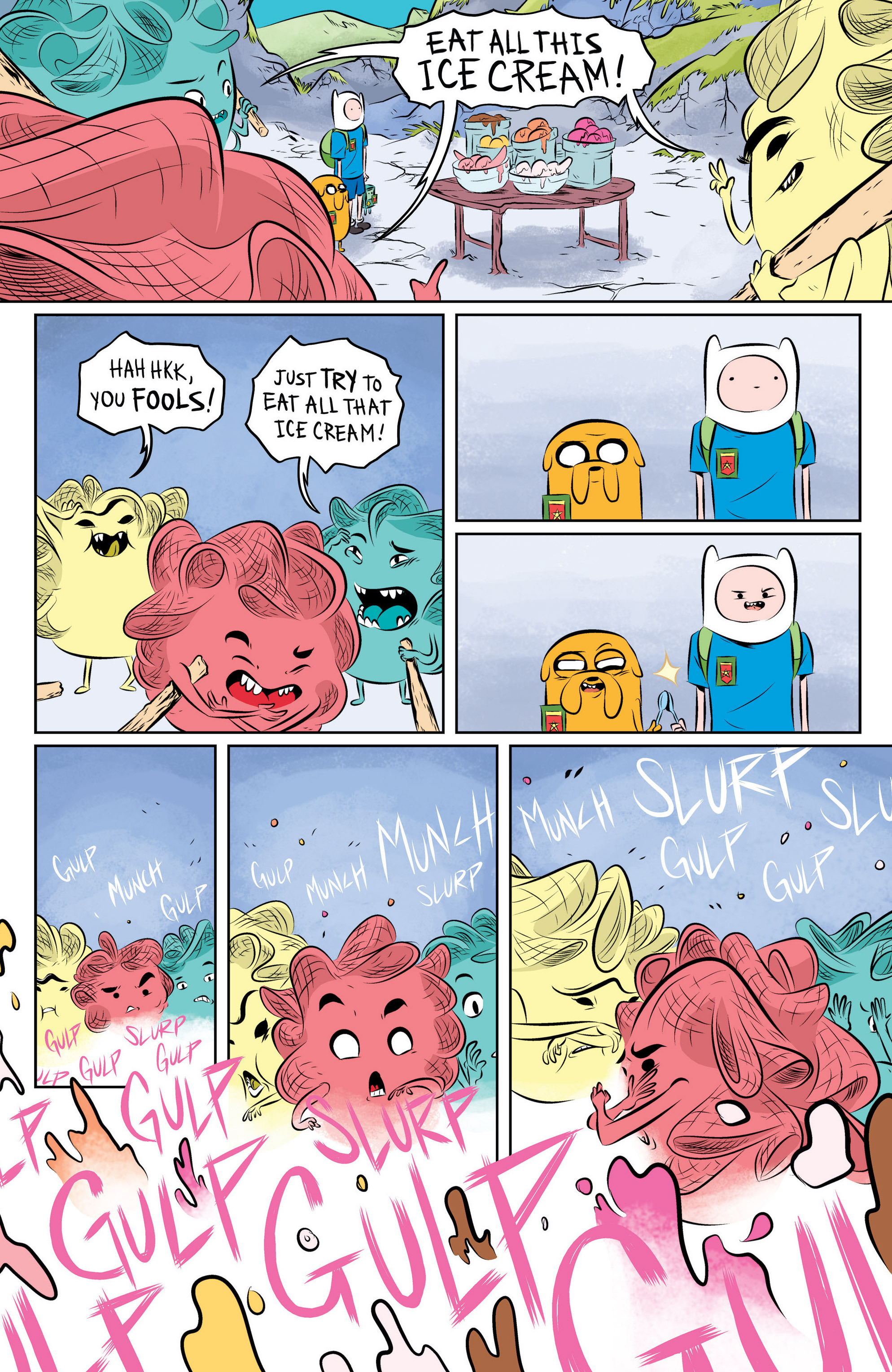 Read online Adventure Time: The Flip Side comic -  Issue #1 - 23