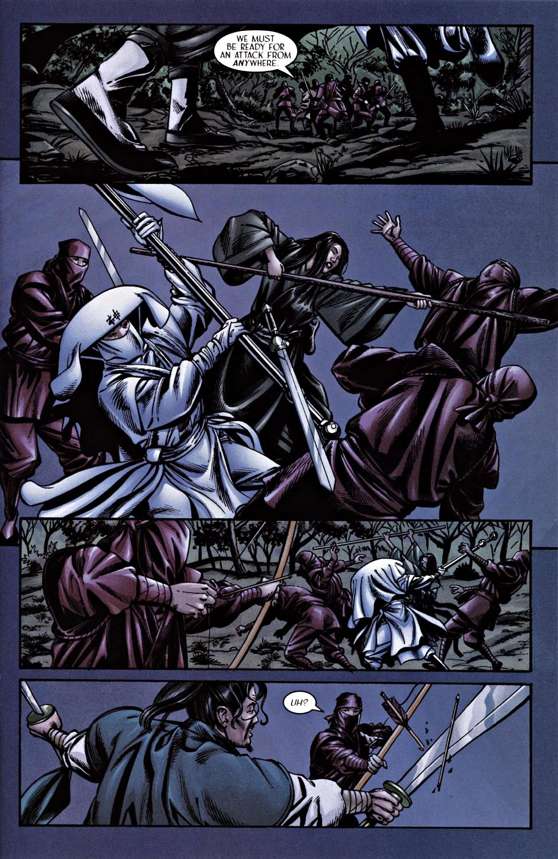 Read online Silken Ghost comic -  Issue #2 - 13