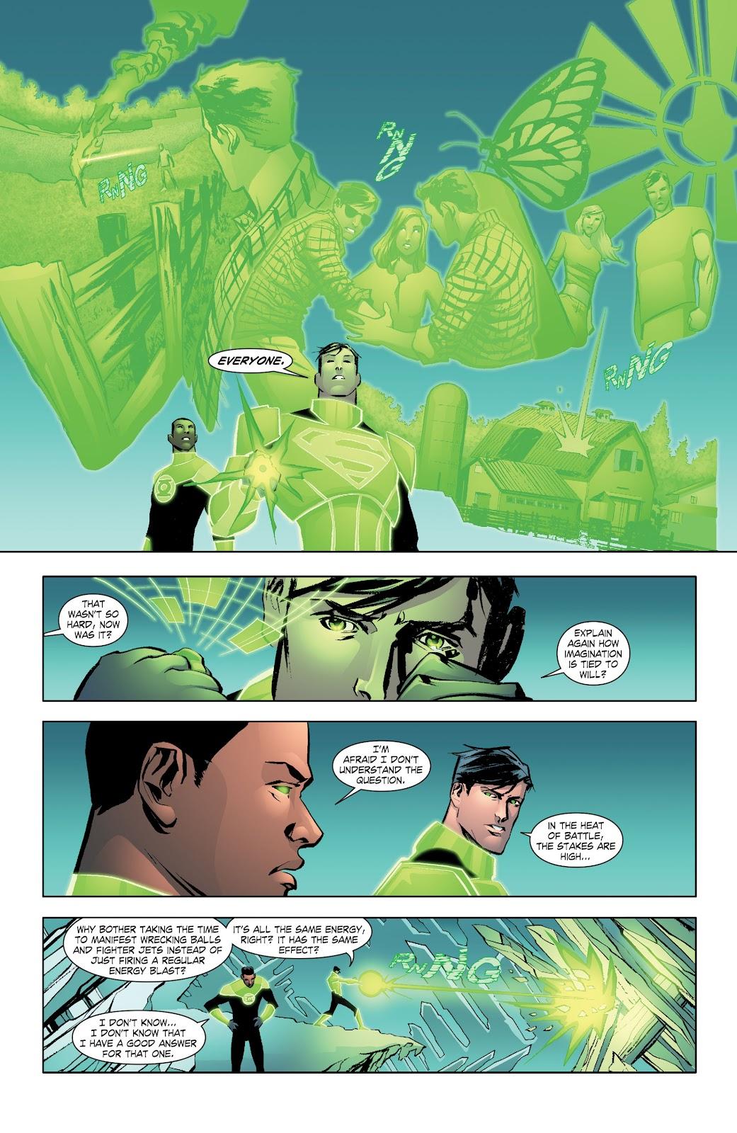 Read online Smallville Season 11 [II] comic -  Issue # TPB 7 - 41