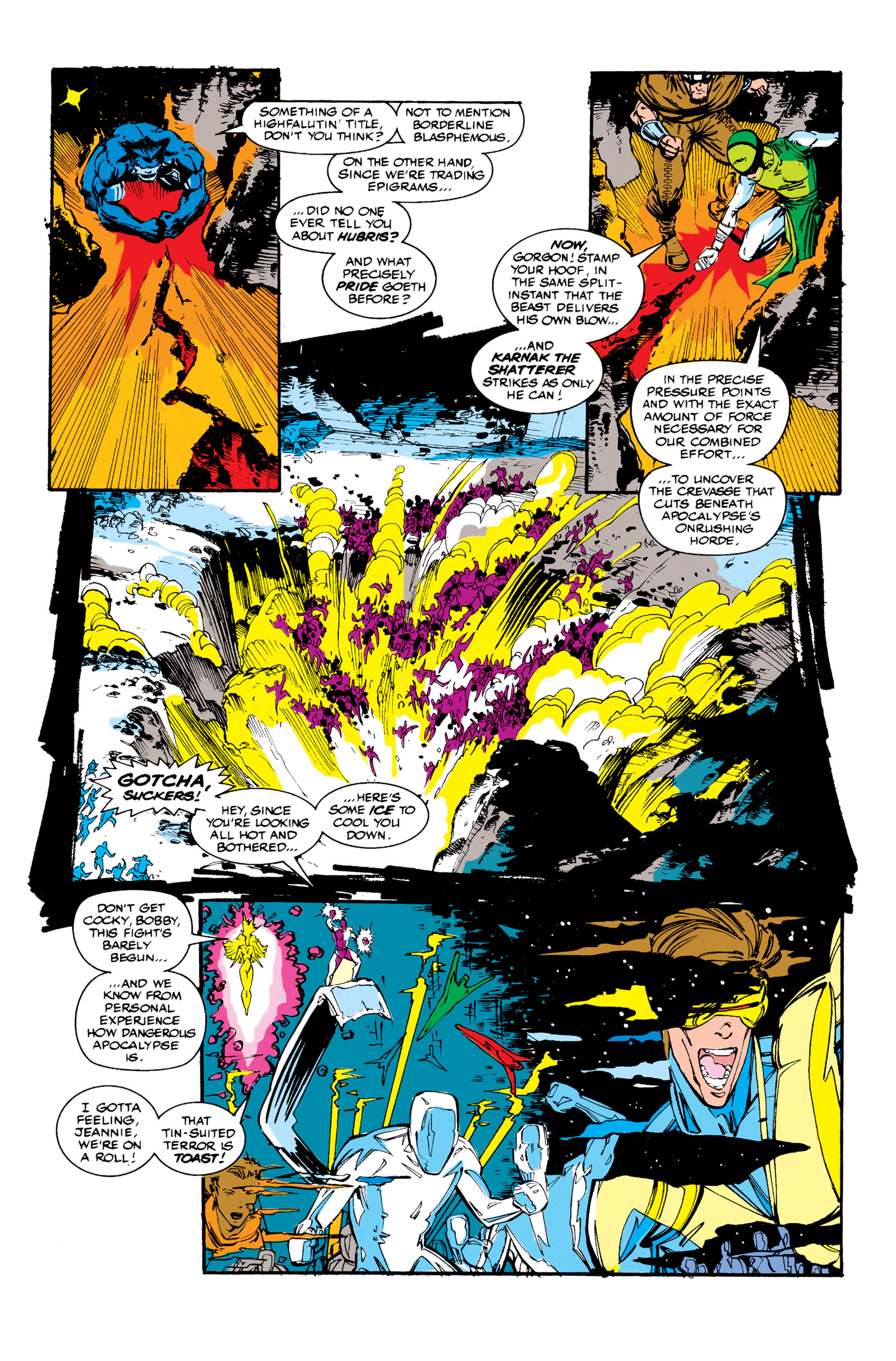 Read online X-Factor (1986) comic -  Issue #67 - 12