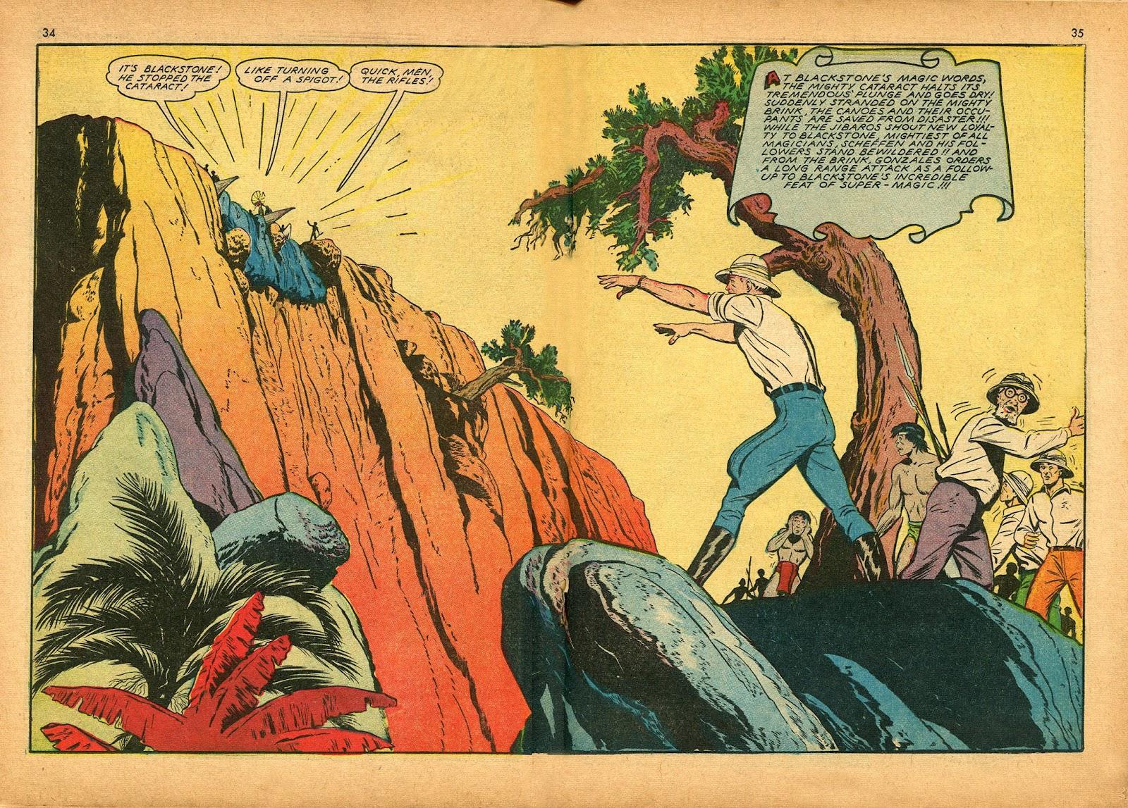 Read online Super-Magician Comics comic -  Issue #9 - 34