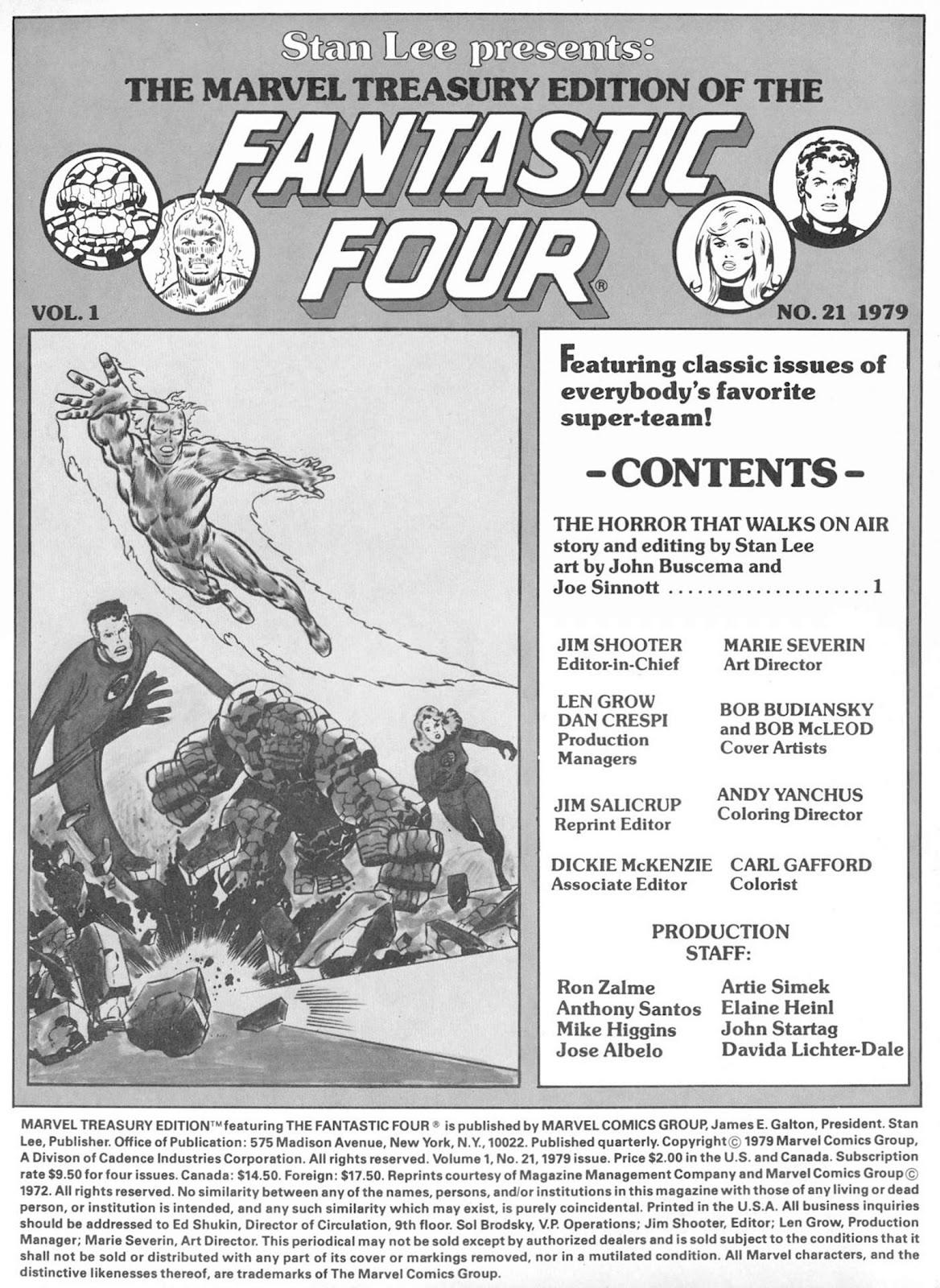 Marvel Treasury Edition 21 Page 2