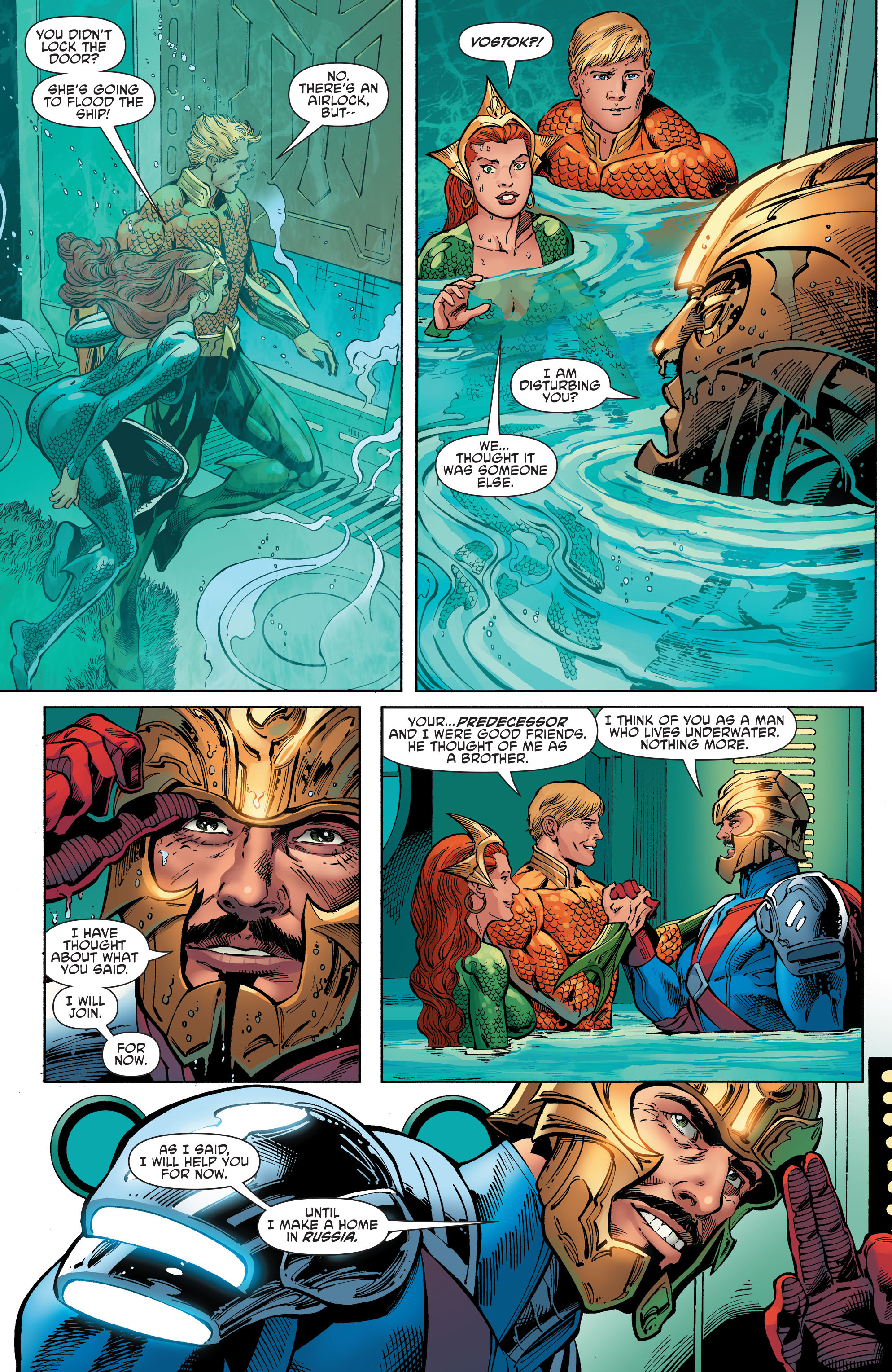 Read online Aquaman and the Others comic -  Issue #6 - 13