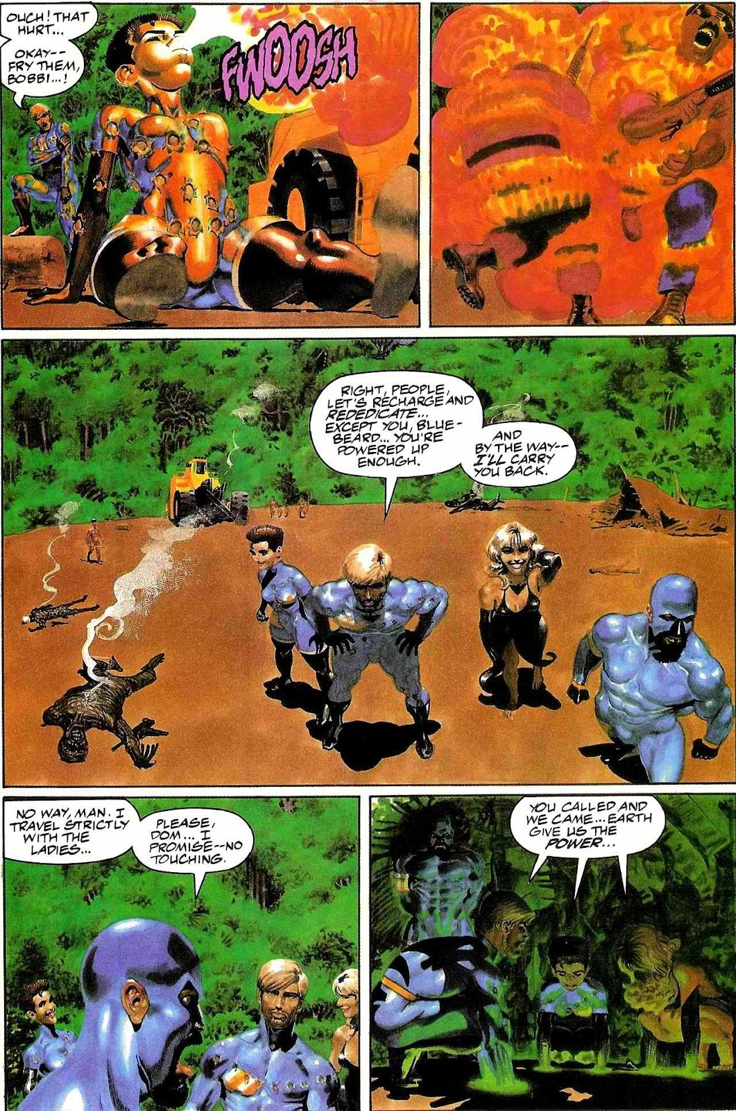 Read online Terrarists comic -  Issue #1 - 17