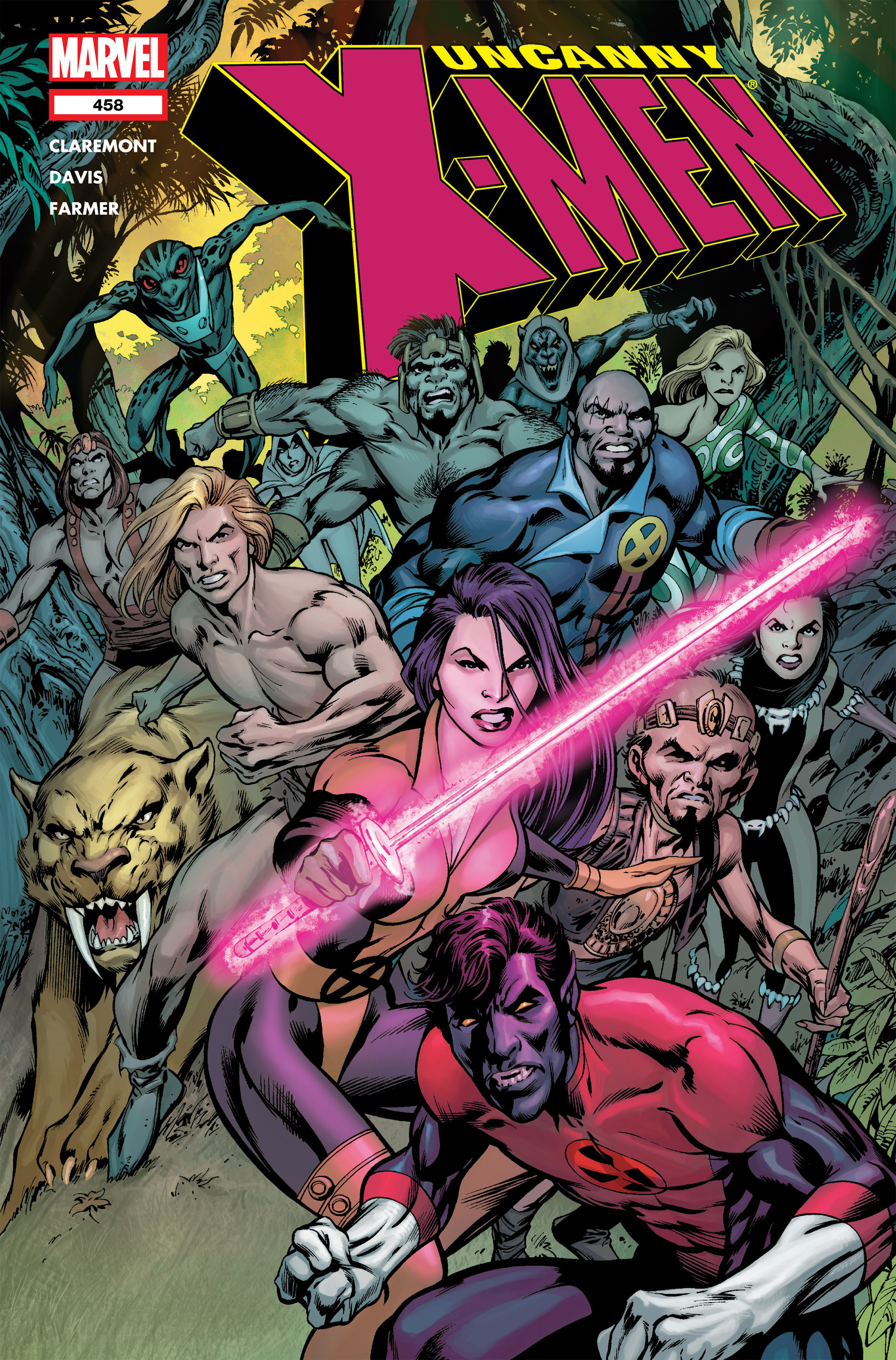 Read online Uncanny X-Men (1963) comic -  Issue #458 - 1