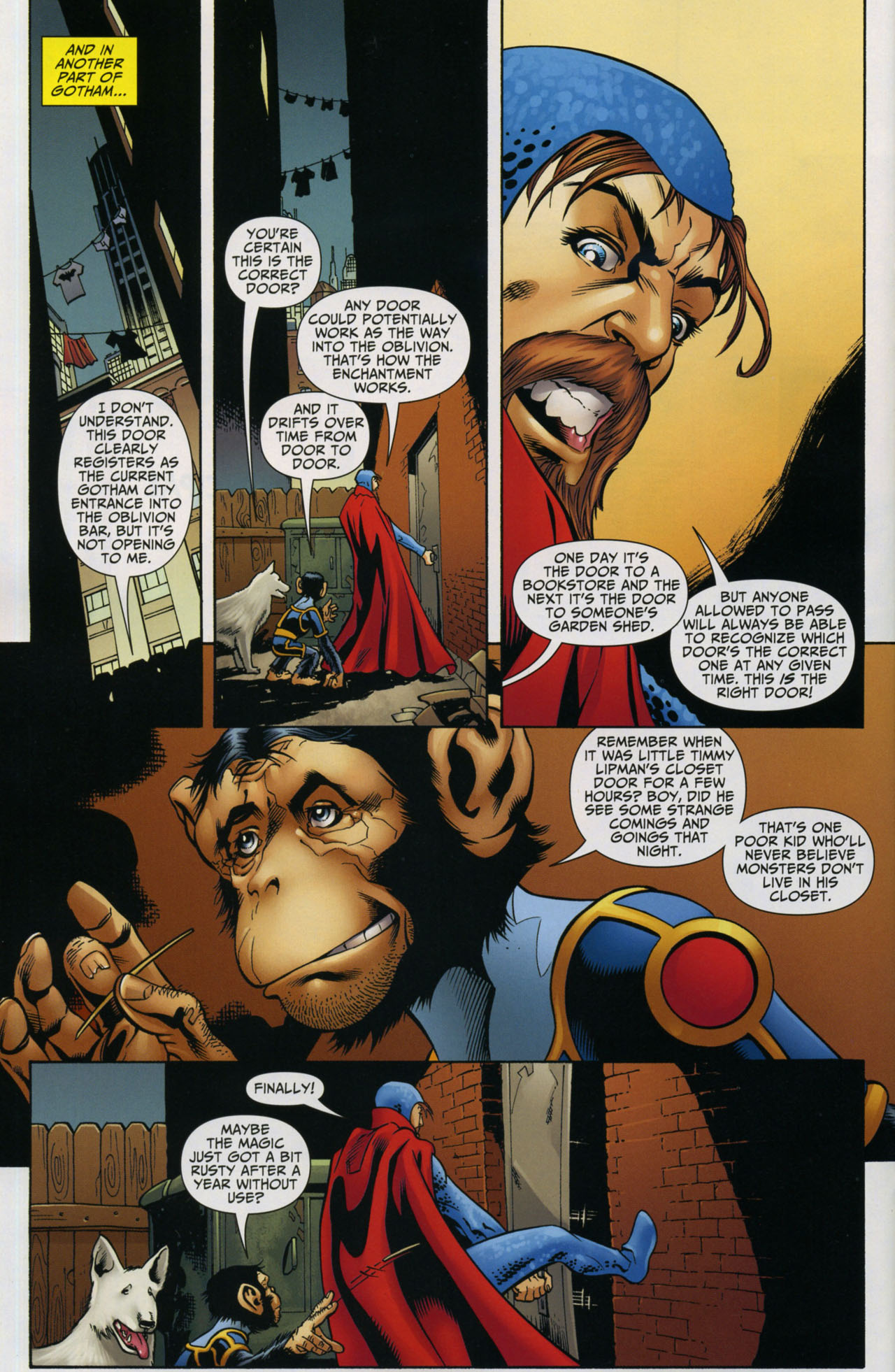 Read online Shadowpact comic -  Issue #5 - 11