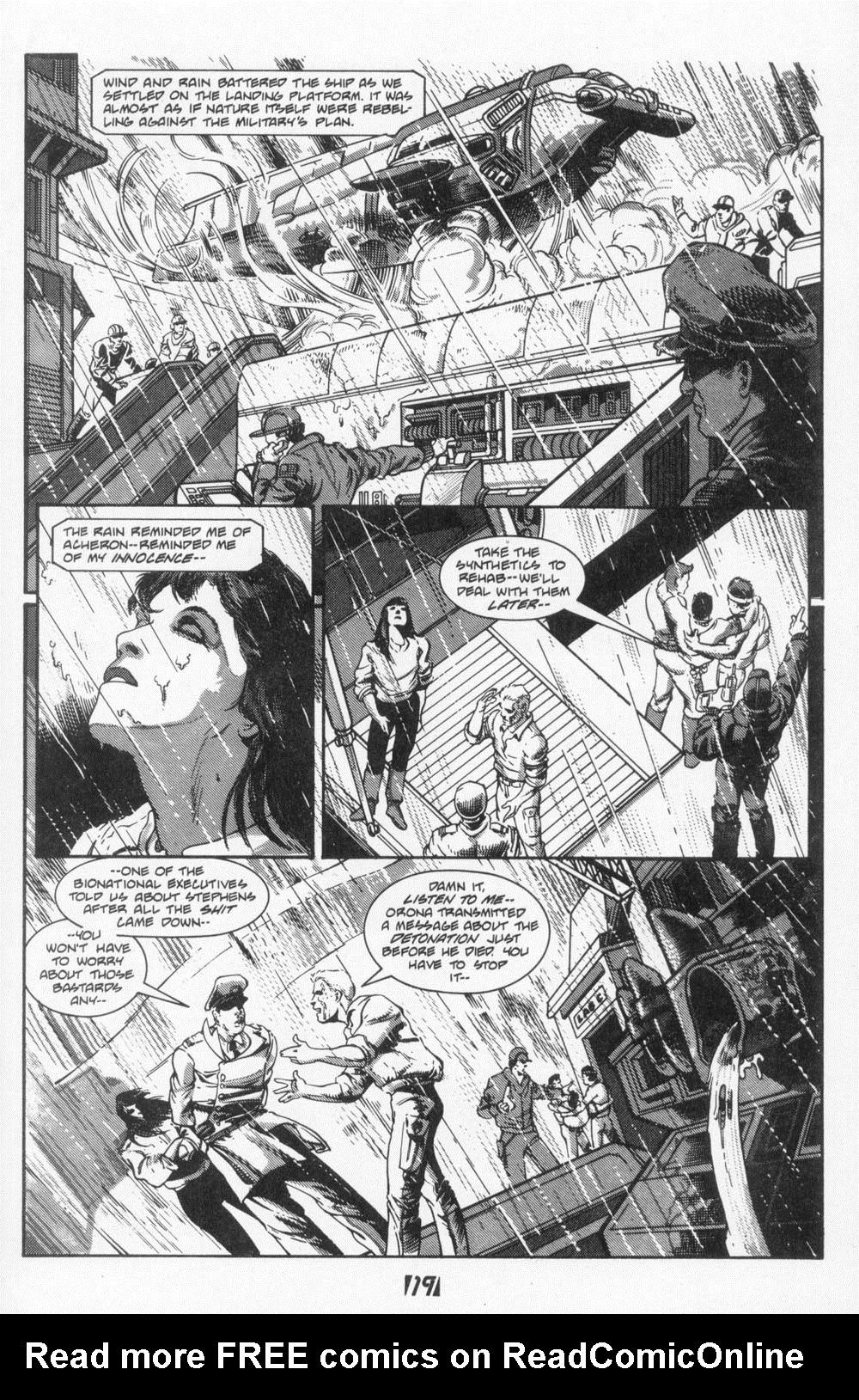 Read online Aliens (1988) comic -  Issue #6 - 21