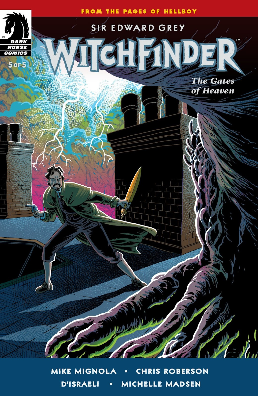 Witchfinder: The Gates of Heaven issue 5 - Page 1