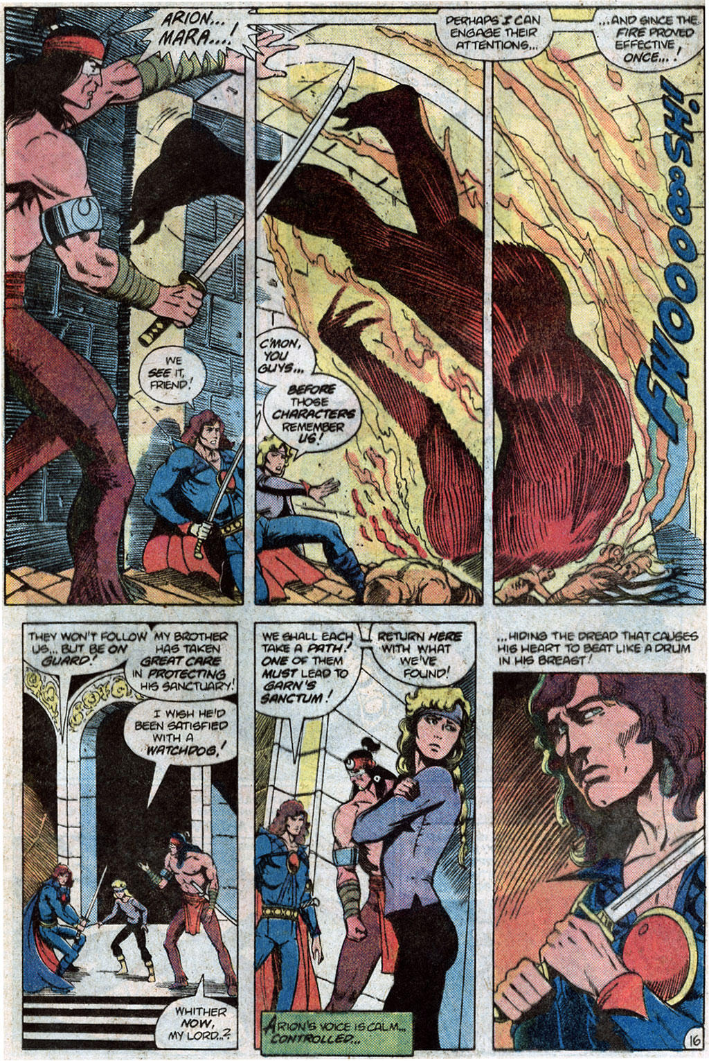Read online Arion, Lord of Atlantis comic -  Issue #12 - 18