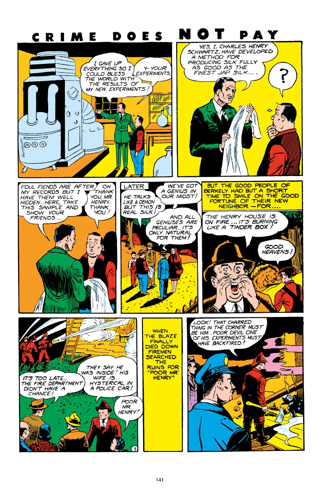Read online Crime Does Not Pay Archives comic -  Issue # TPB 4 (Part 2) - 41