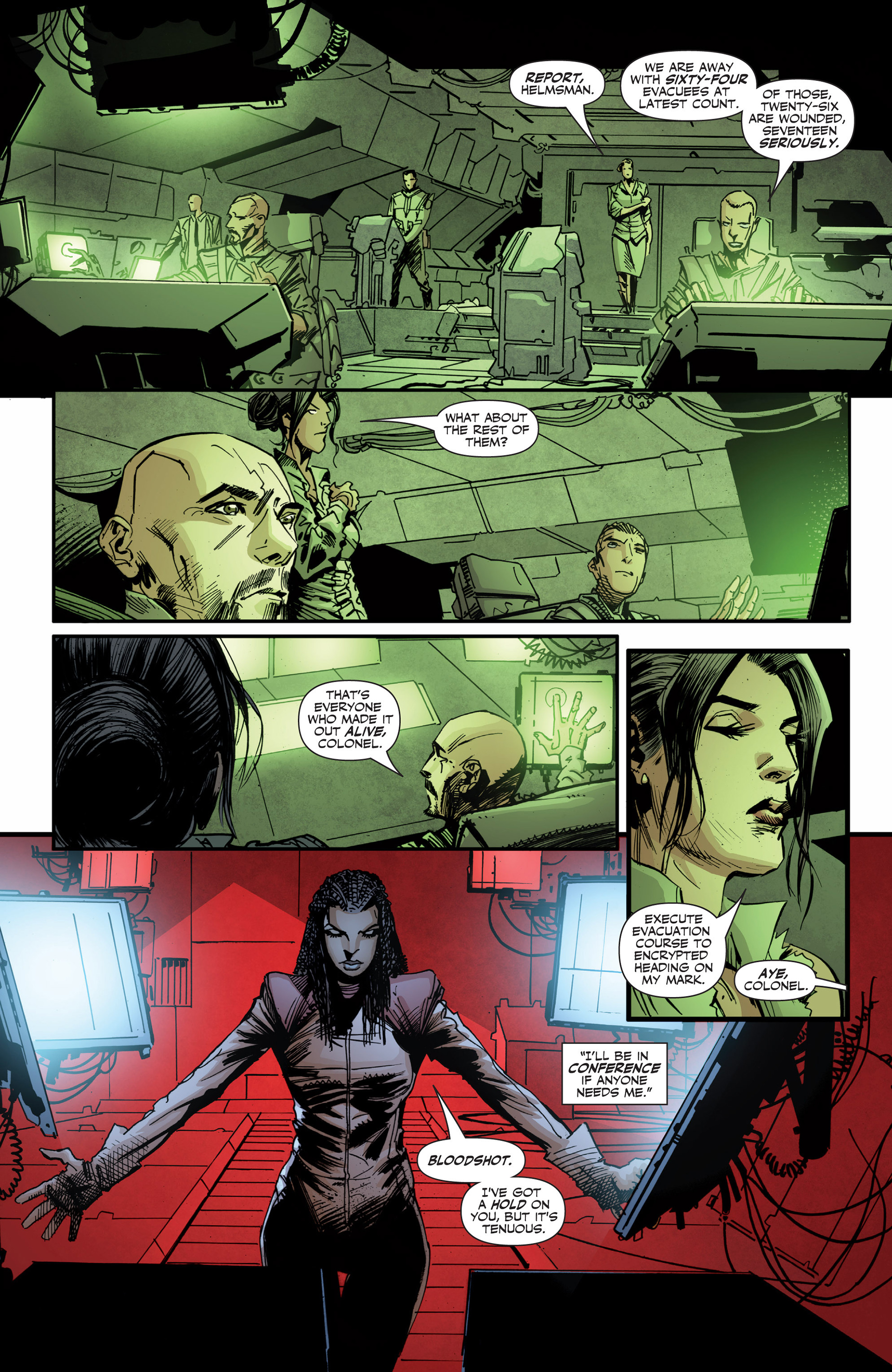 Read online Armor Hunters: Bloodshot comic -  Issue #3 - 4