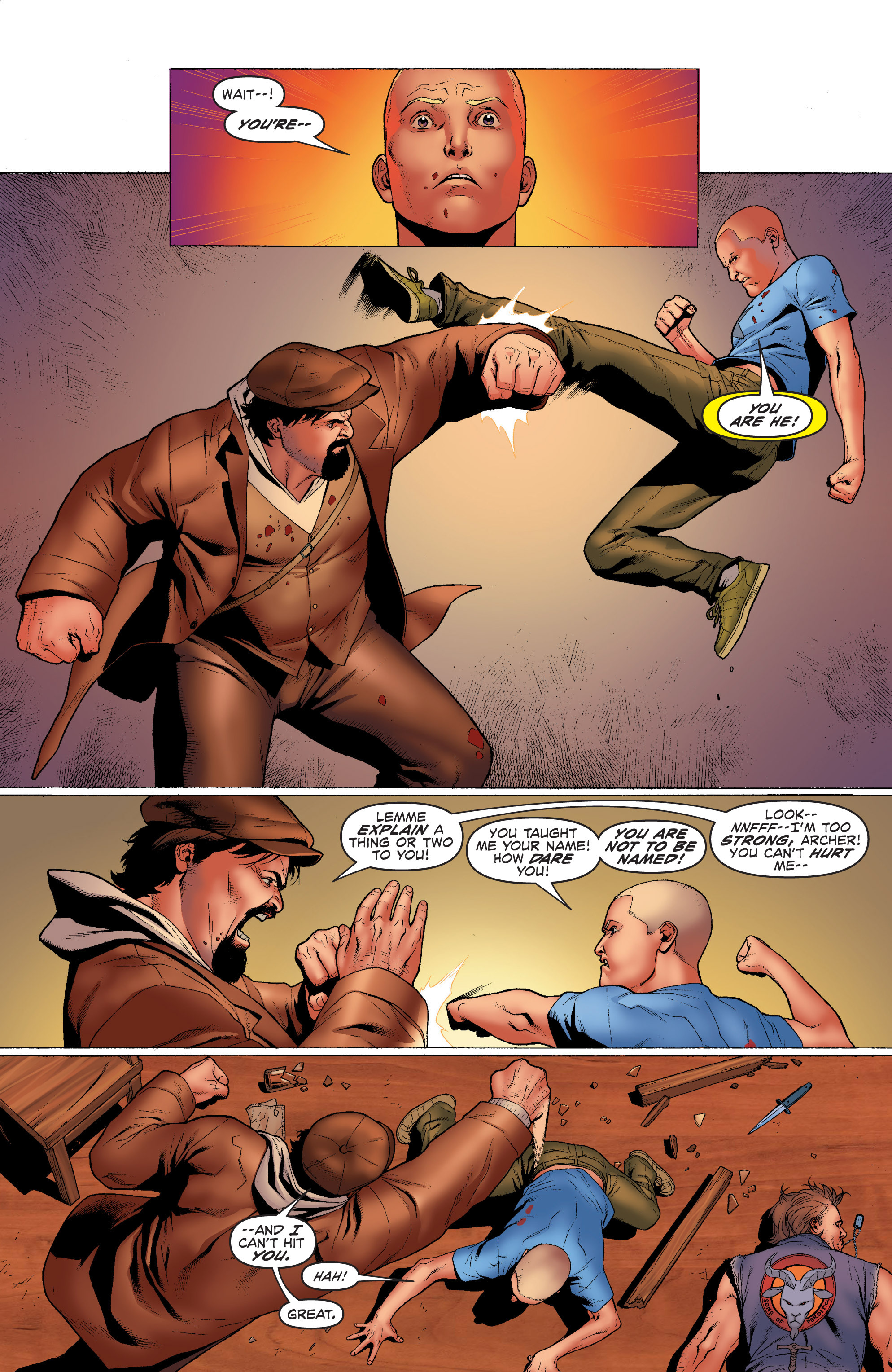 Read online Archer and Armstrong comic -  Issue #Archer and Armstrong _TPB 1 - 24