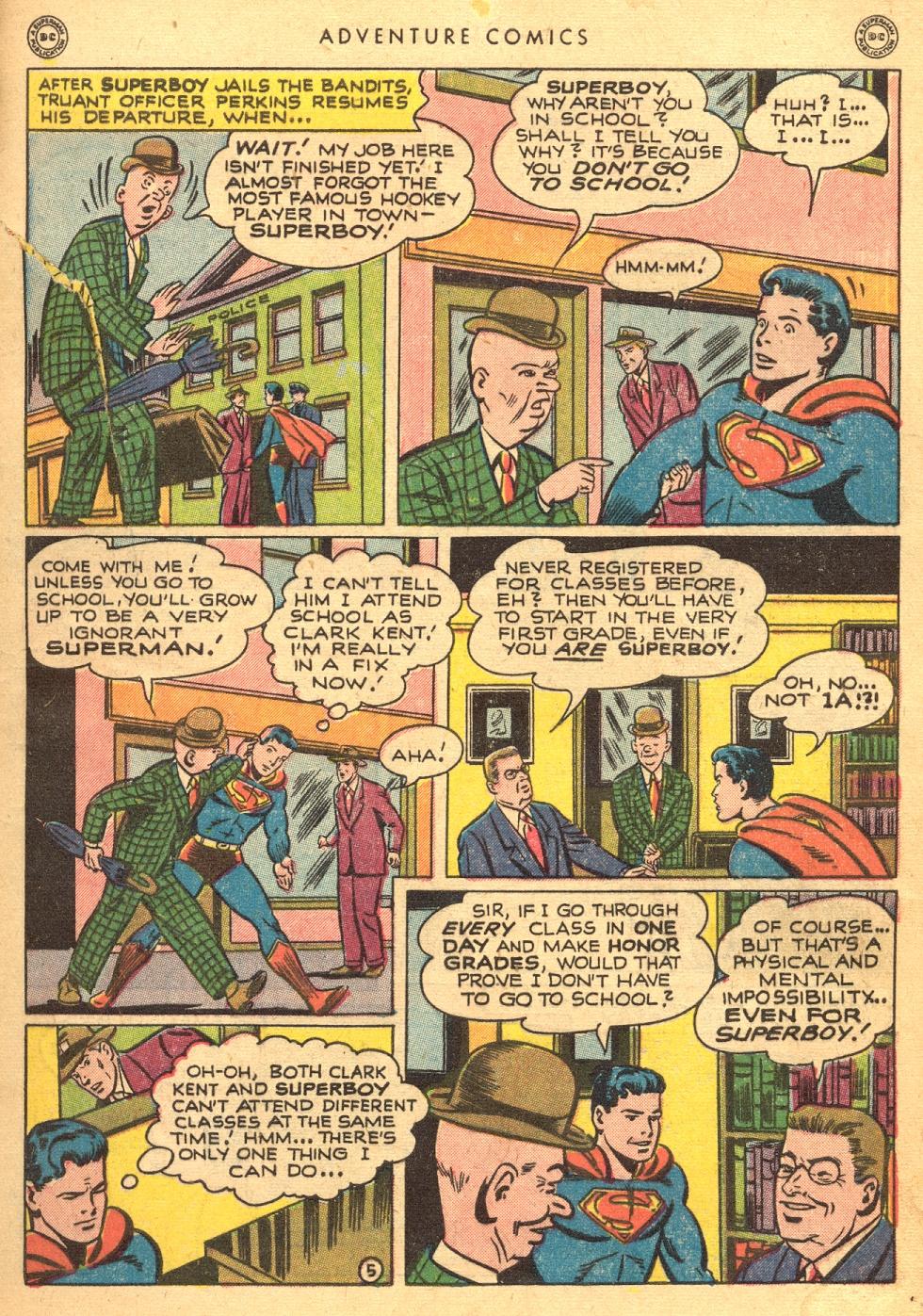 Read online Adventure Comics (1938) comic -  Issue #133 - 7