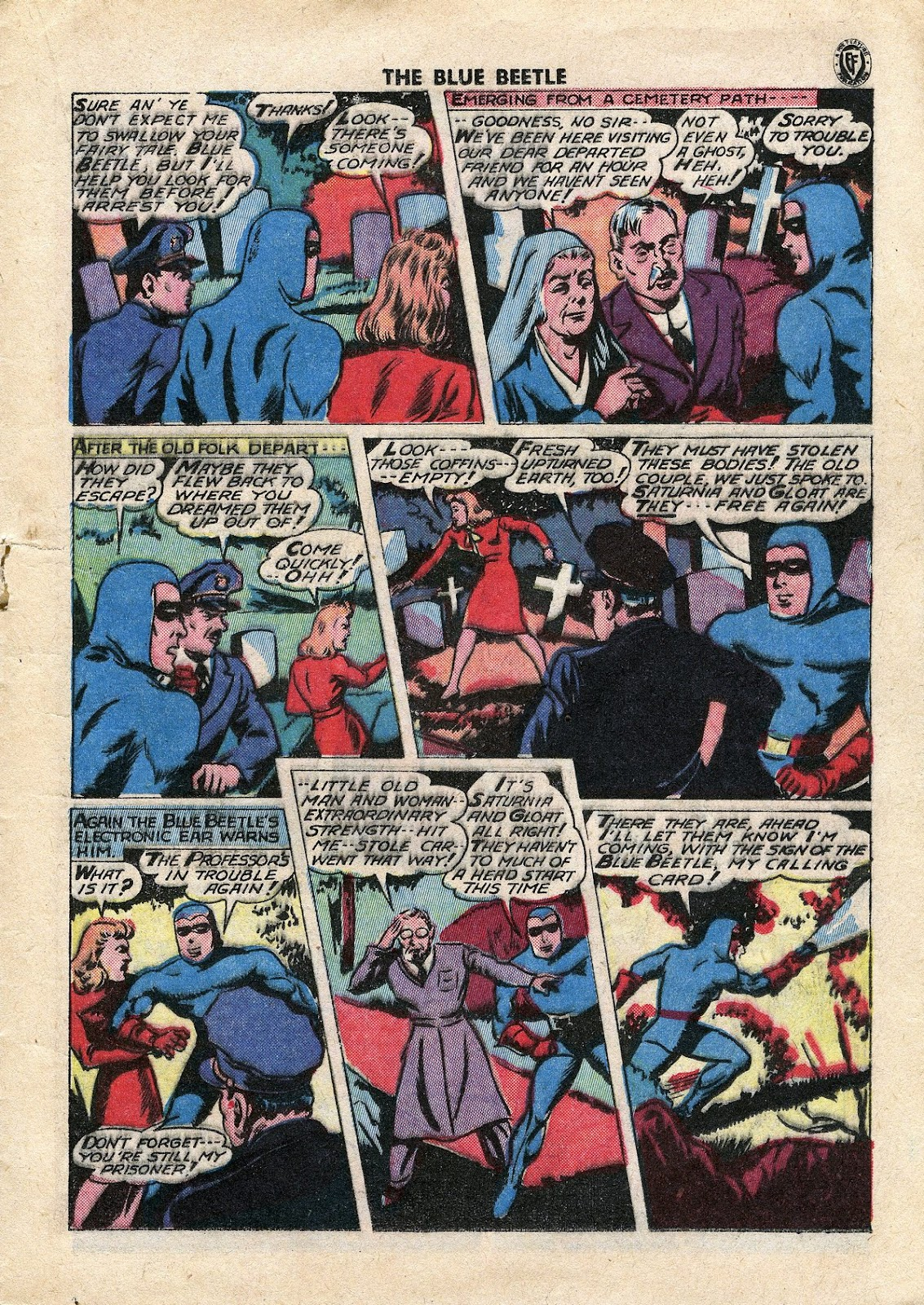 The Blue Beetle issue 34 - Page 20