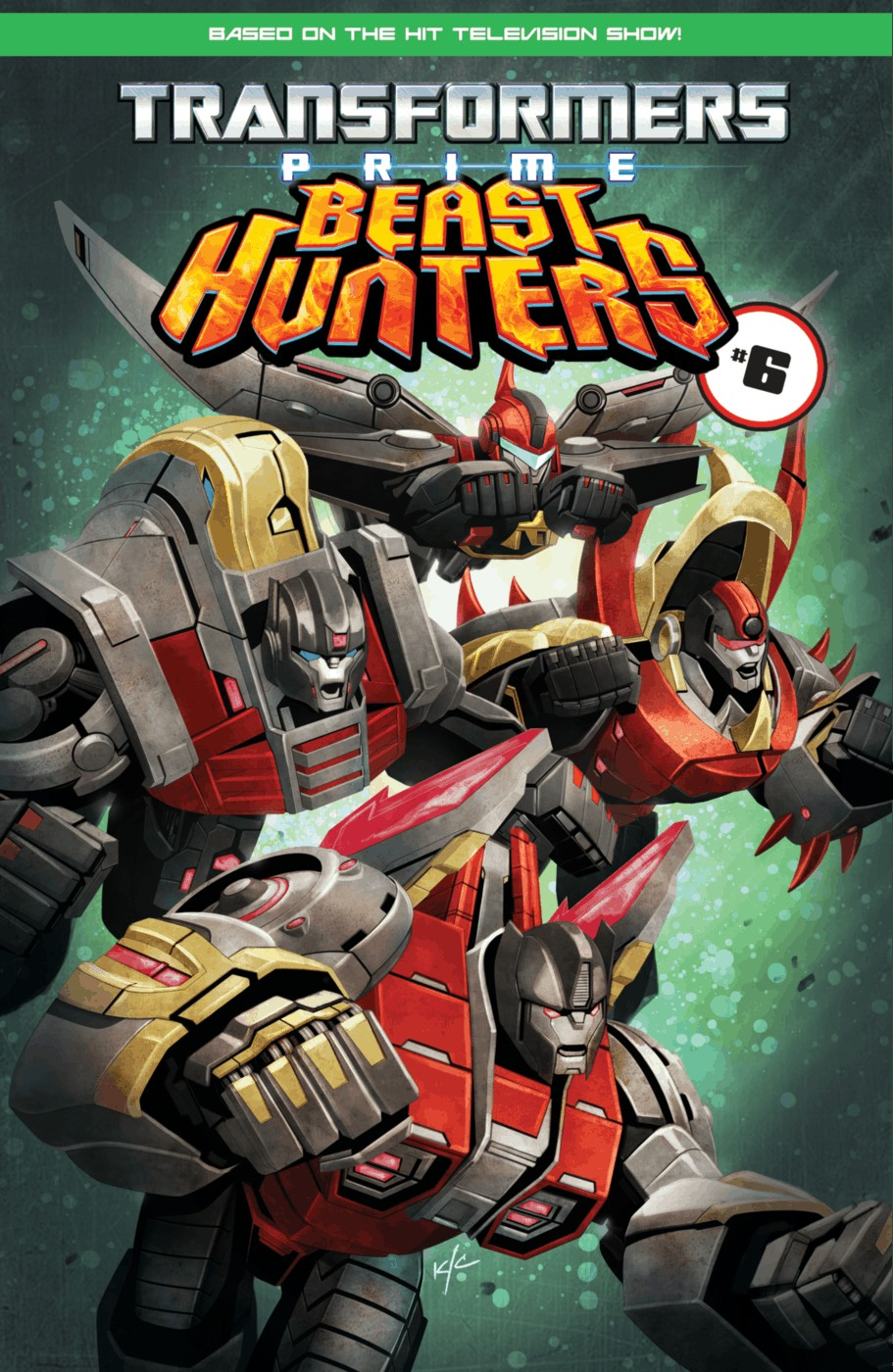 Read online Transformers Prime: Beast Hunters comic -  Issue #5 - 25