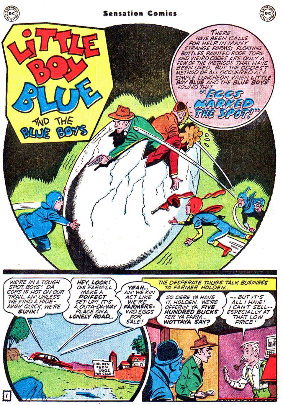 Read online Sensation (Mystery) Comics comic -  Issue #54 - 18