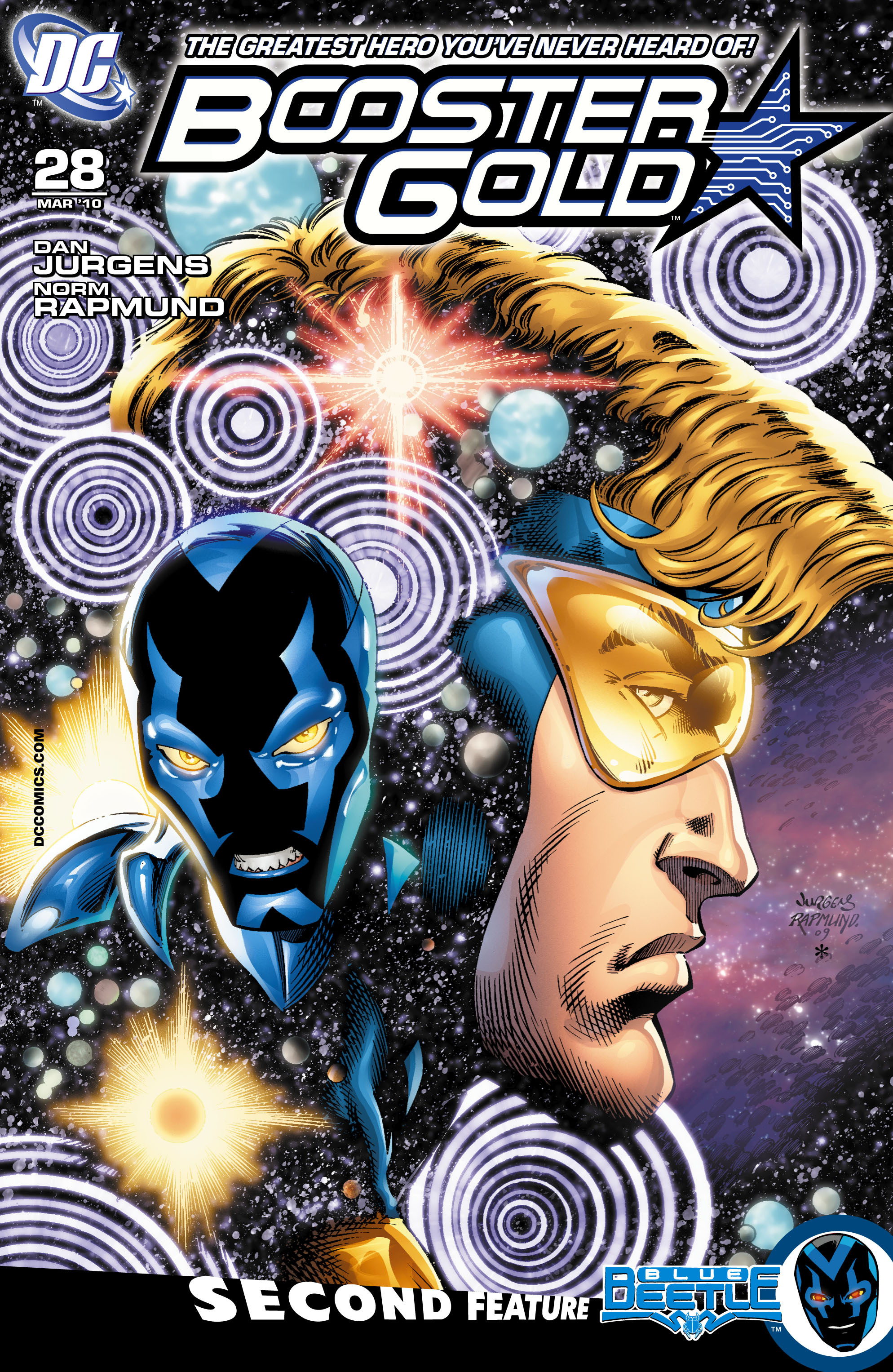 Booster Gold 2007 Issue 28