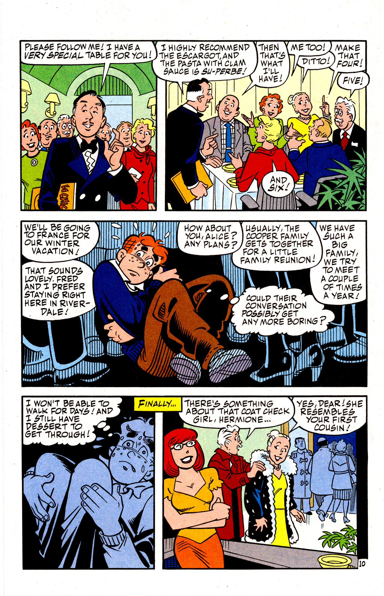 Read online Archie (1960) comic -  Issue #574 - 14