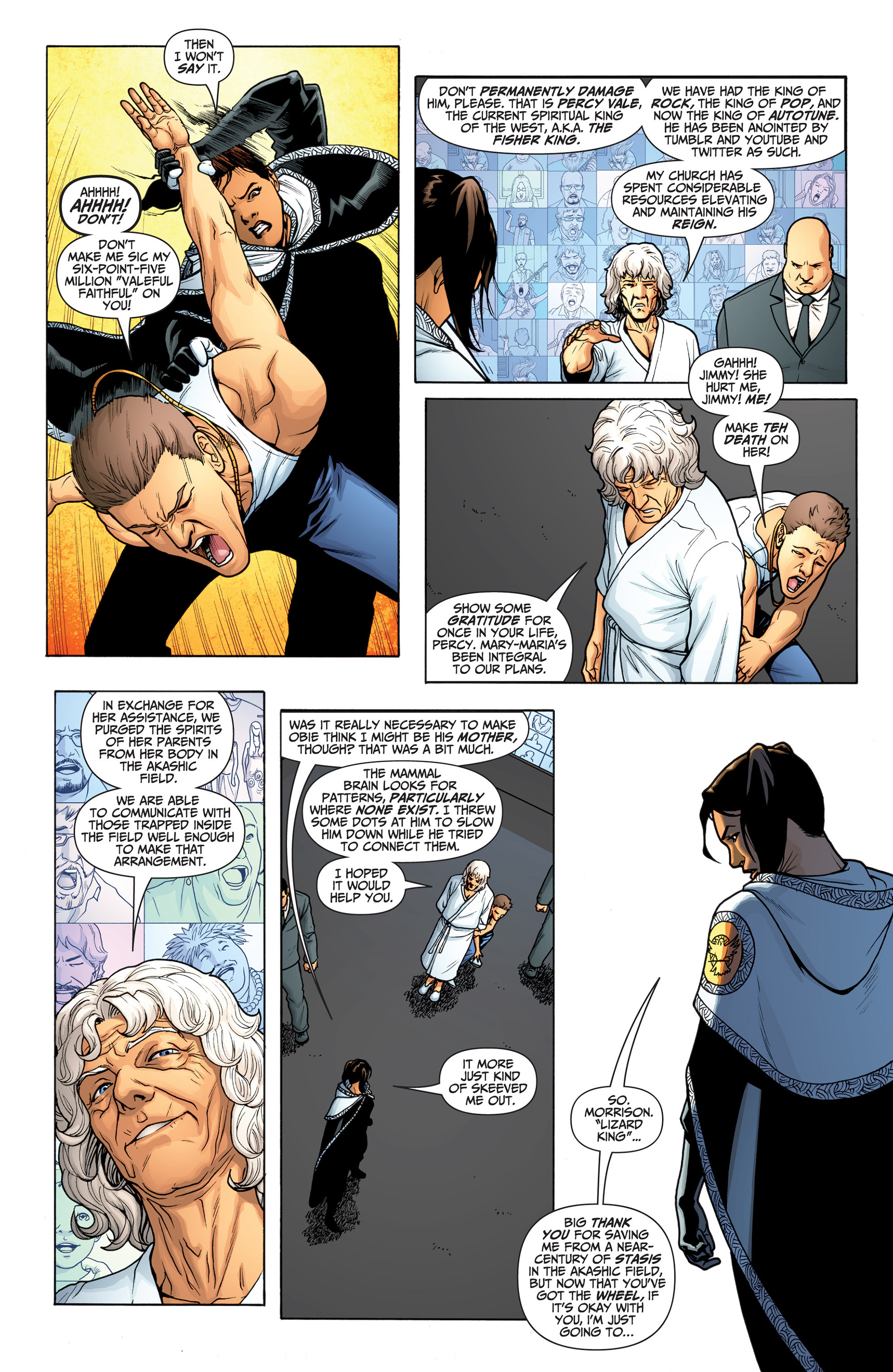 Read online Archer and Armstrong comic -  Issue #23 - 4