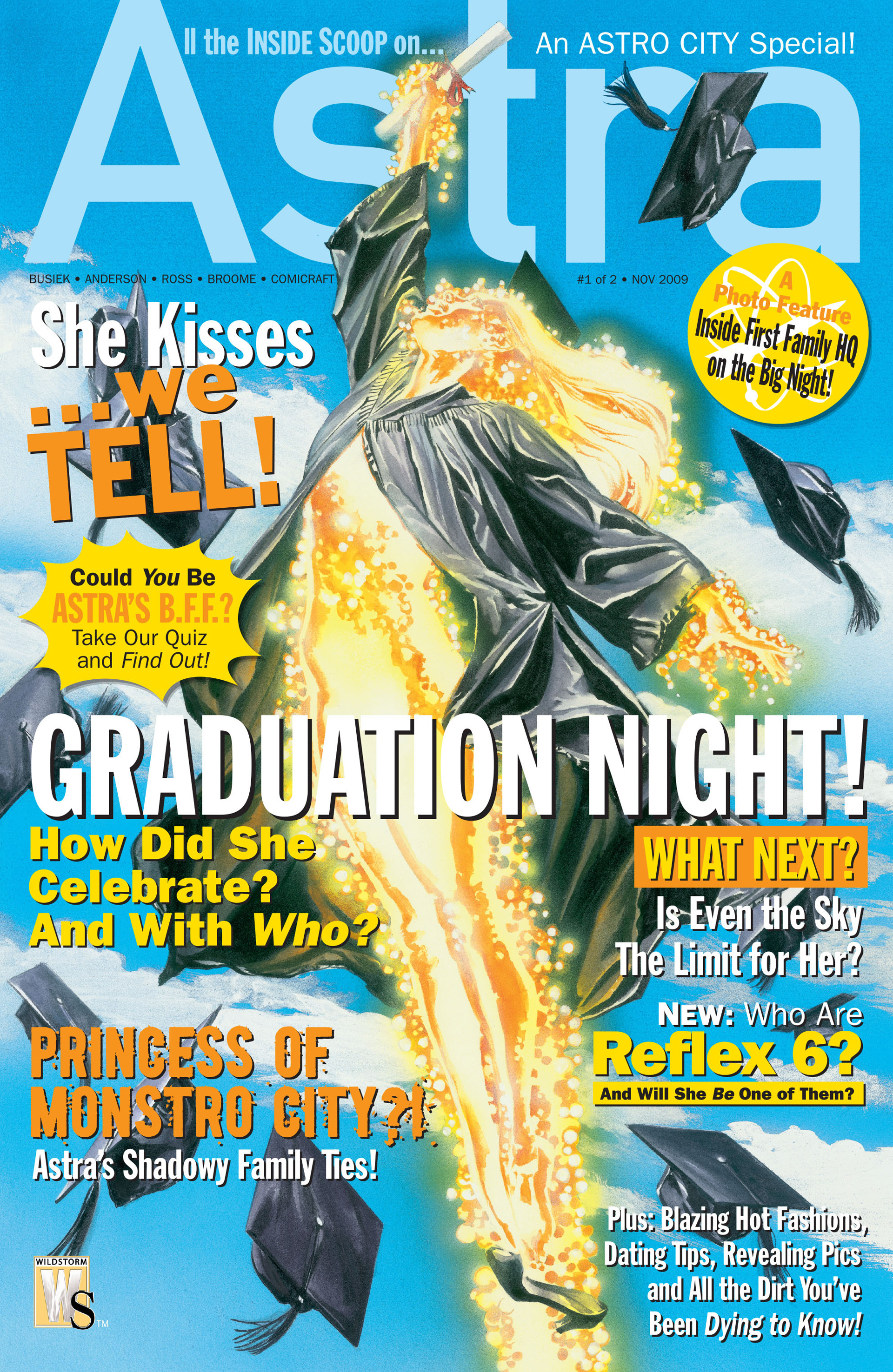 Astro City: Astra Special 1 Page 1
