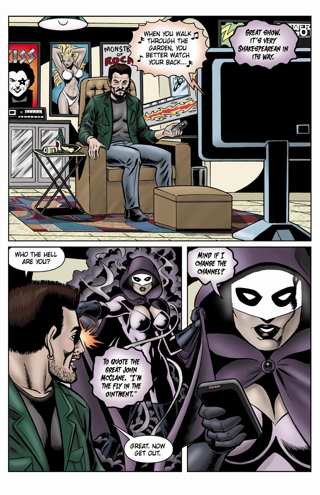 Read online SideChicks comic -  Issue #4 - 31