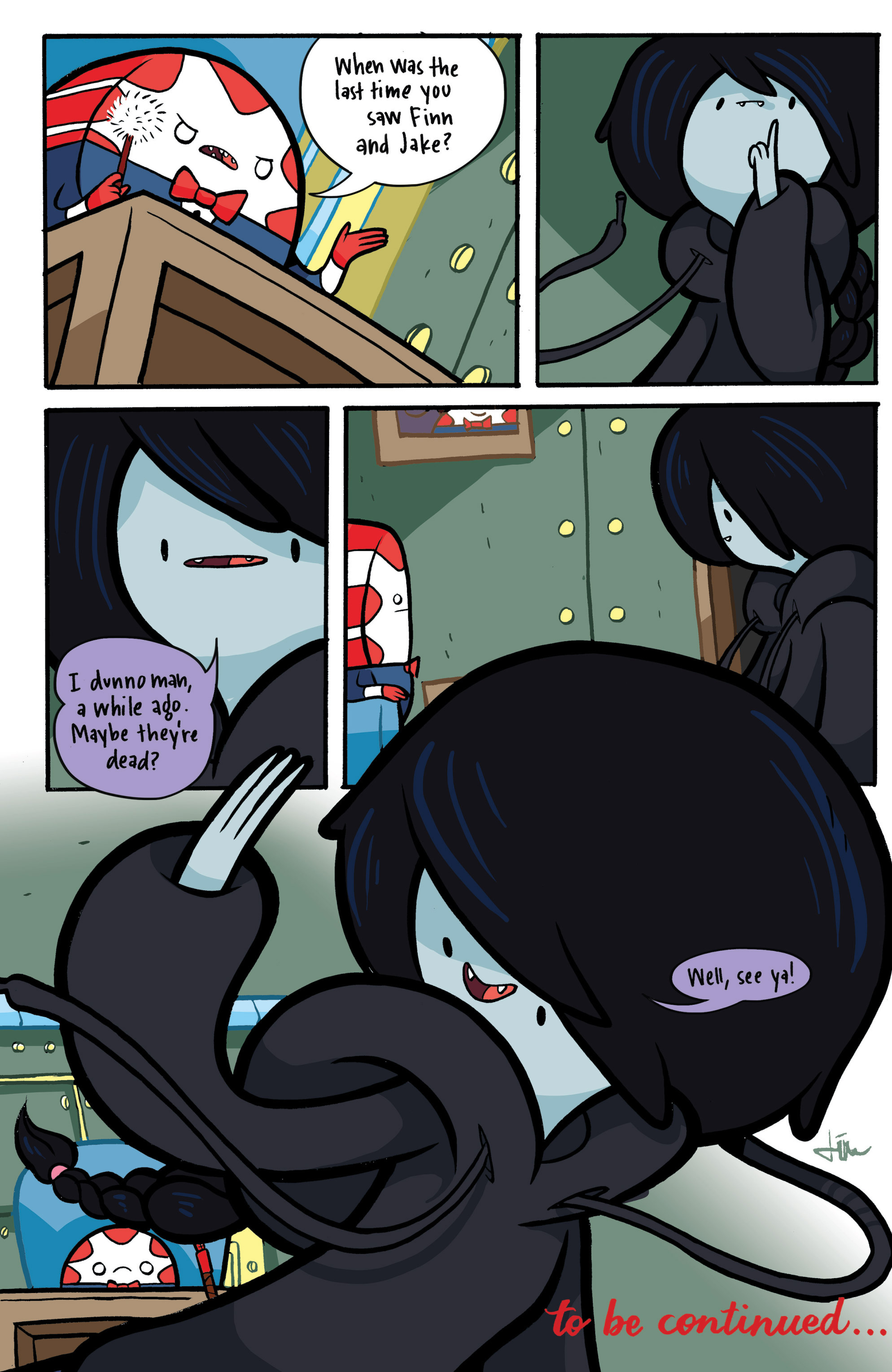 Read online Adventure Time: Candy Capers comic -  Issue #2 - 26