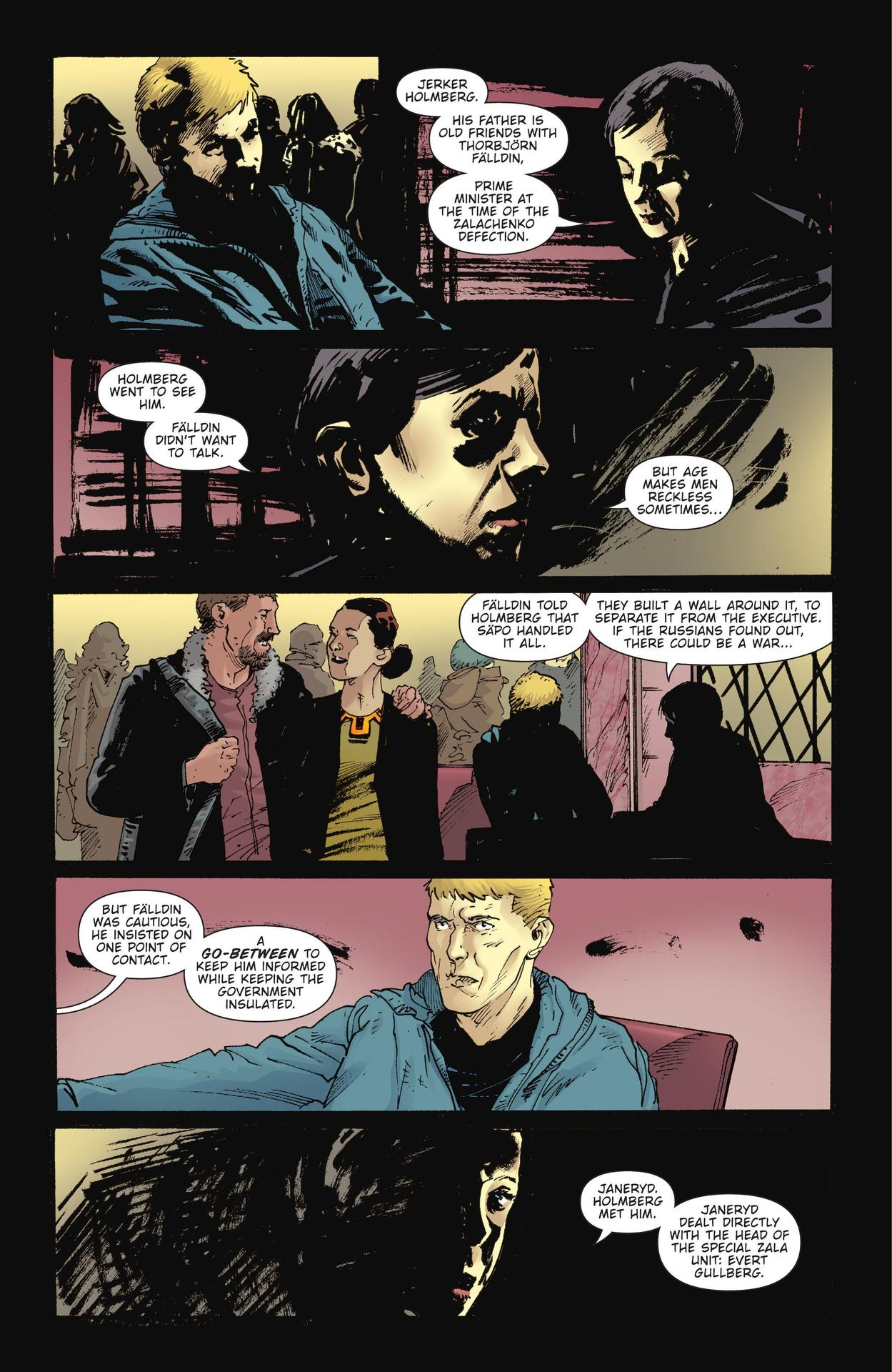 Read online The Girl Who Kicked The Hornet's Nest comic -  Issue # TPB - 181